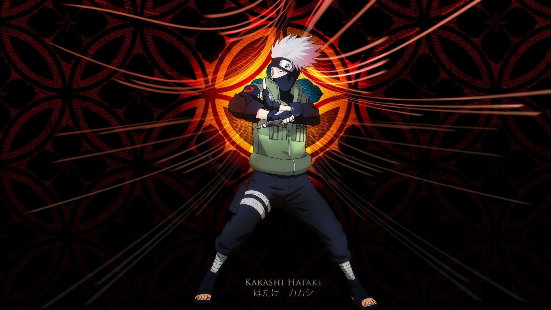 Wallpaper Anime Hatake Kakashi Naruto Shippuuden Darkness