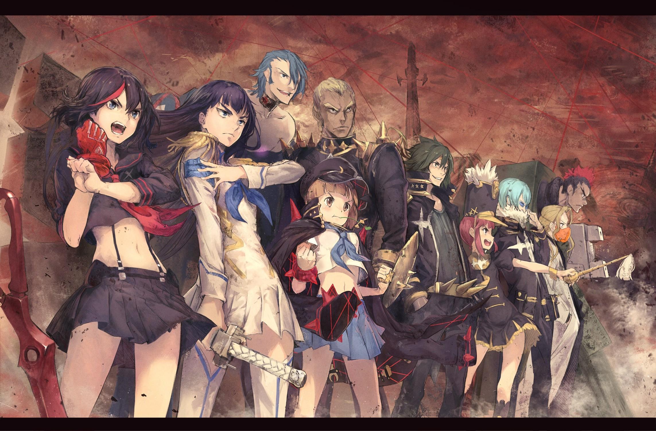 Anime Characters For Gmod : Wallpaper anime jakuzure nonon kill la matoi