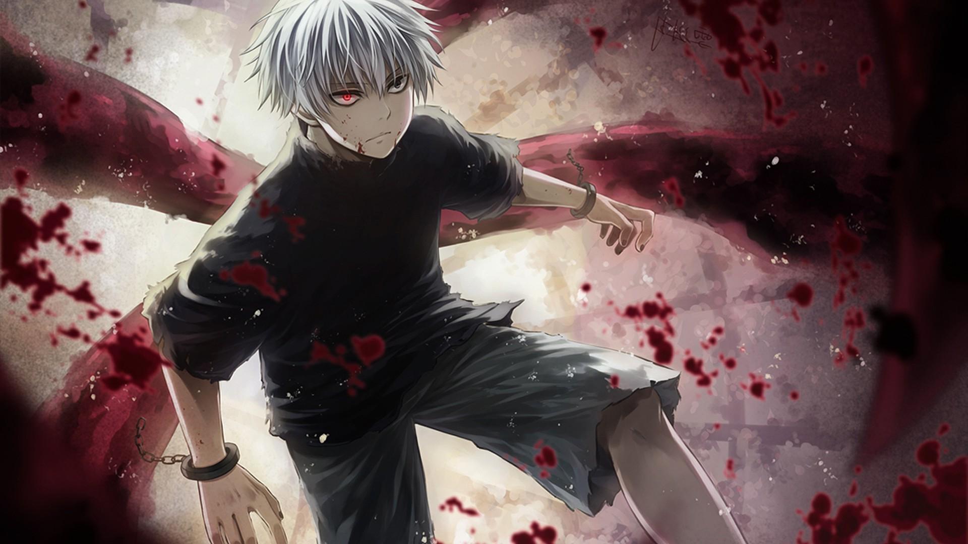Wallpaper Anime Kaneki Ken Tokyo Ghoul Screenshot 1920x1080 Px