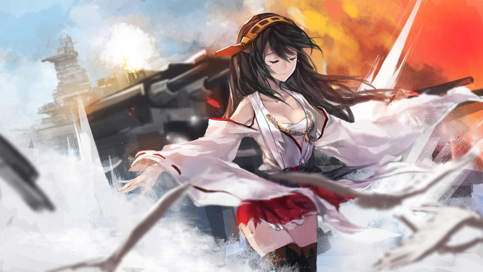 Картинки аниме сильных девушек