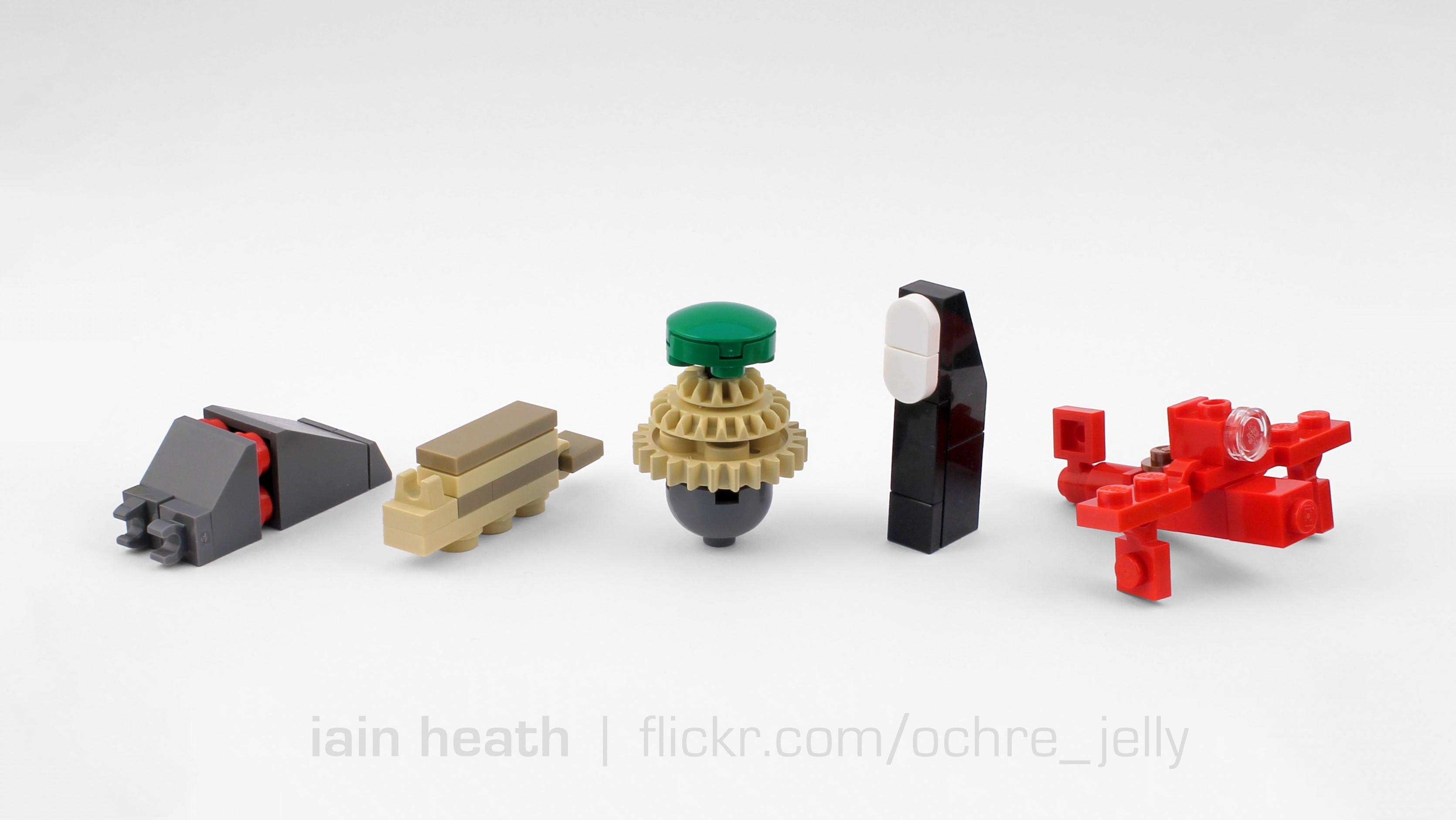 Wallpaper Anime Lego Toy Laputa Nausicaa Rosso Moc