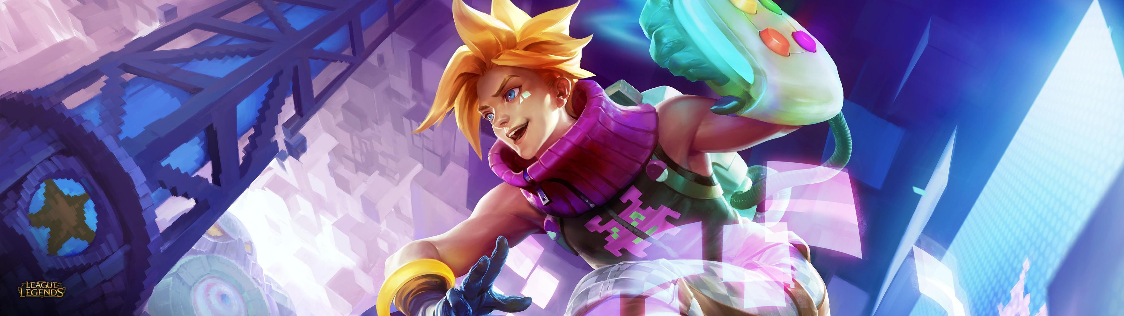 Wallpaper Anime League Of Legends Arcade Skins Screenshot