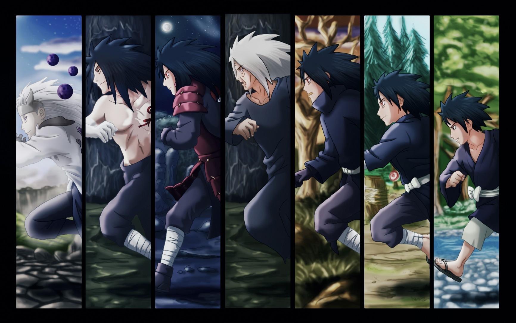Wallpaper Anime Naruto Shippuuden Uchiha Madara Evolution