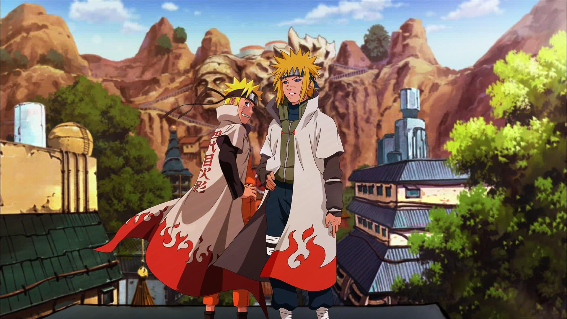 Wallpaper Anime Naruto Shippuuden Uzumaki Naruto Namikaze