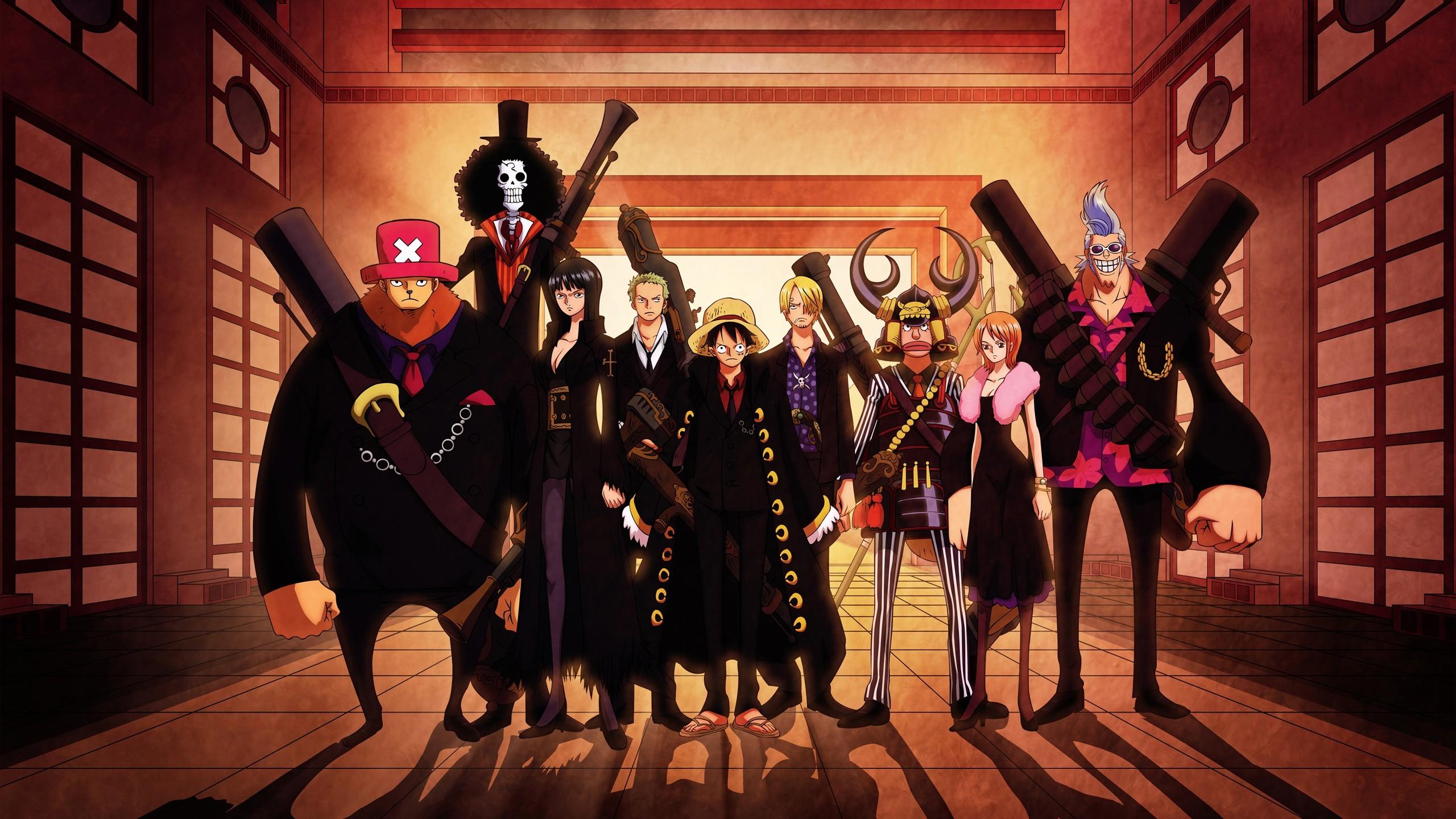 Wallpaper Anime One Piece Sanji Monkey D Luffy Roronoa Zoro