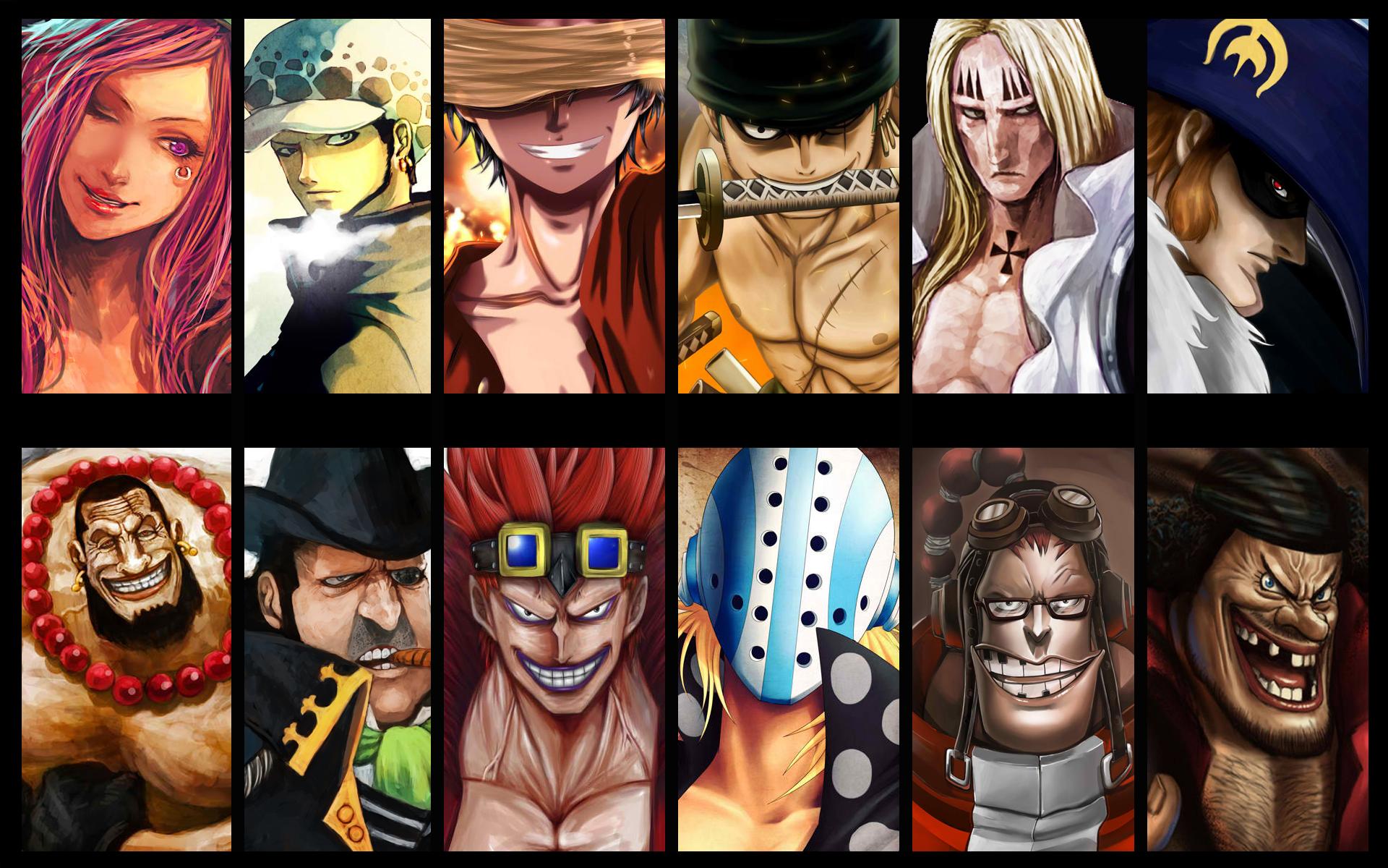 anime, One Piece, Trafalgar Law, Monkey