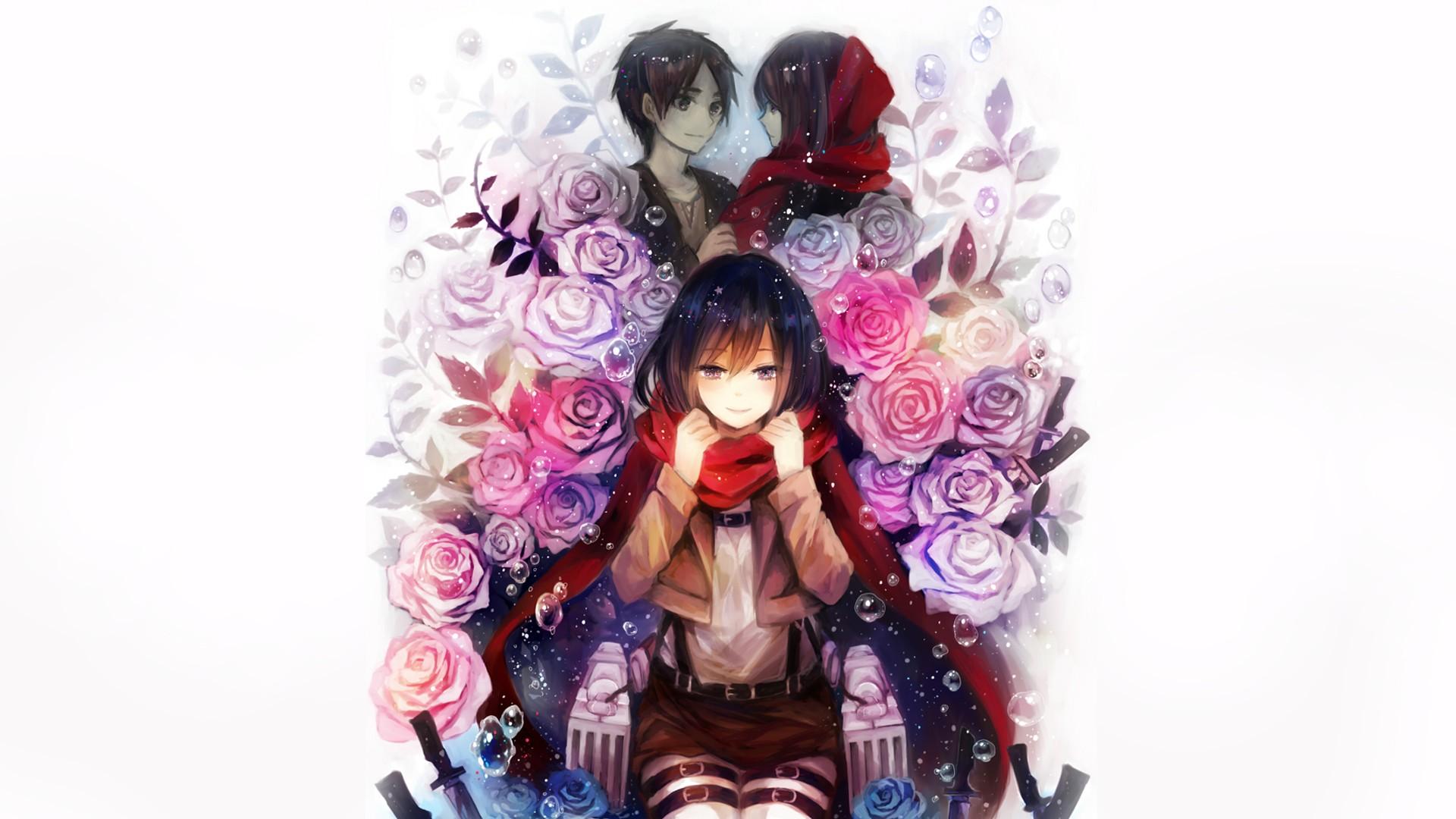 Wallpaper Anime Shingeki No Kyojin Eren Jeager Mikasa Ackerman Toy Doll Costume 1920x1080 Px 1920x1080 4kwallpaper 539375 Hd Wallpapers Wallhere