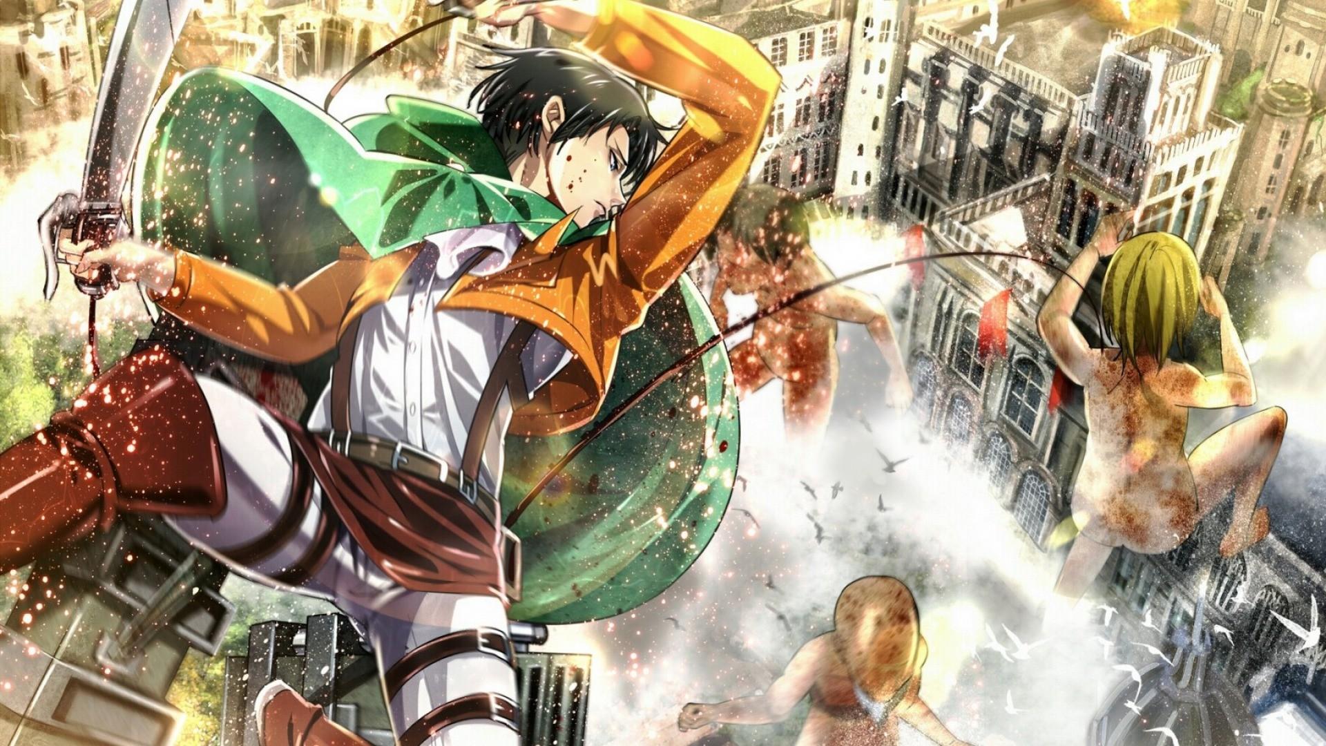 Wallpaper Anime Shingeki No Kyojin Comics Mythology
