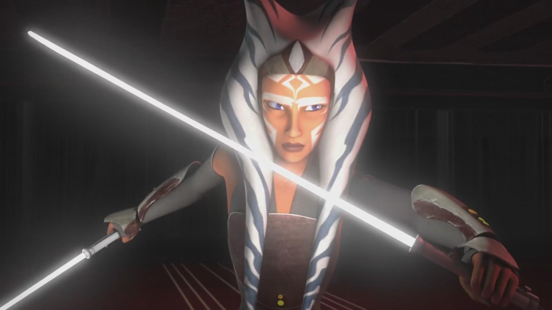 Wallpaper Anime Star Wars Rebels Ahsoka Tano Screenshot