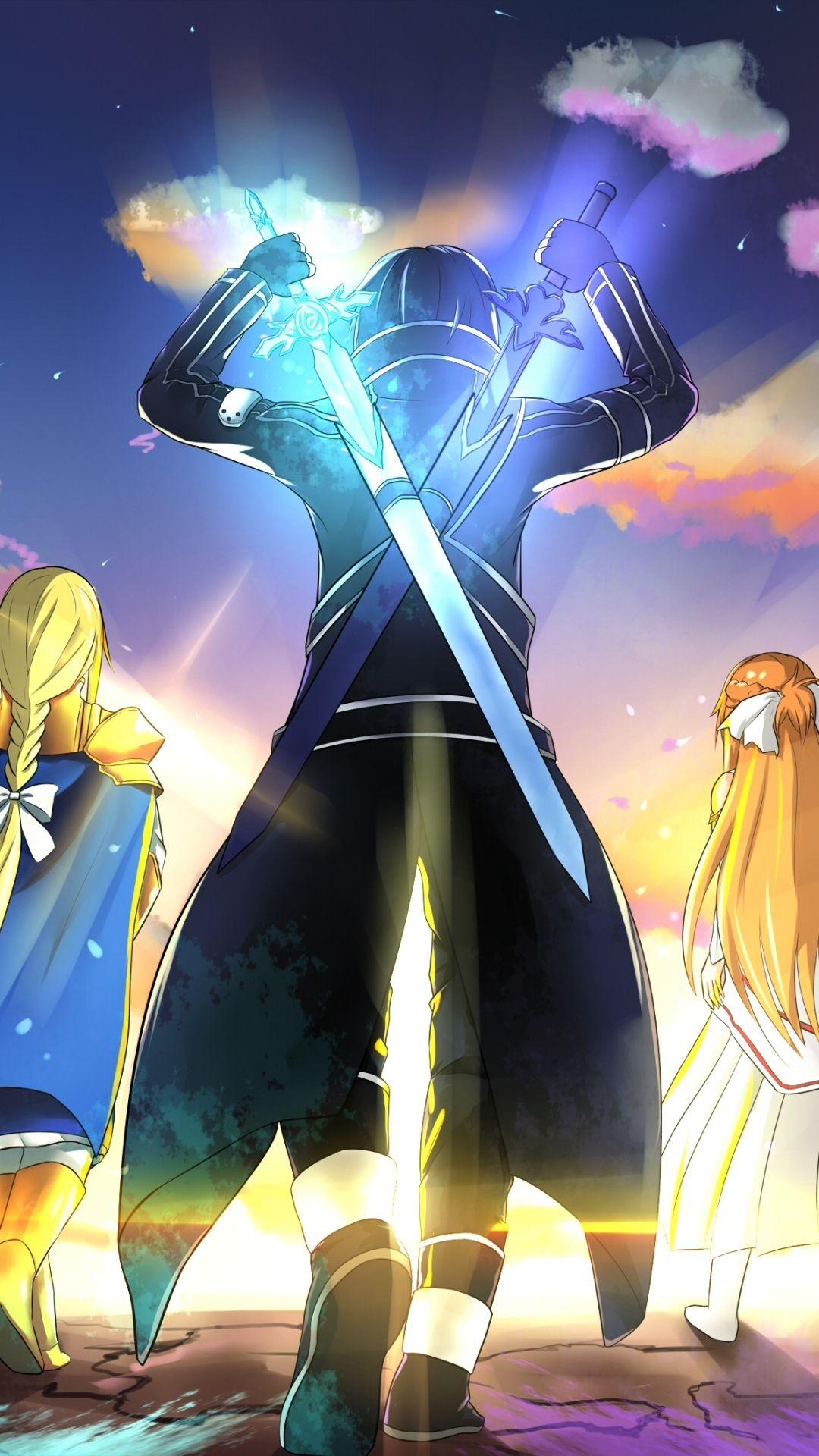 Wallpaper Anime Sword Art Online Alicization Kirito Sword Art