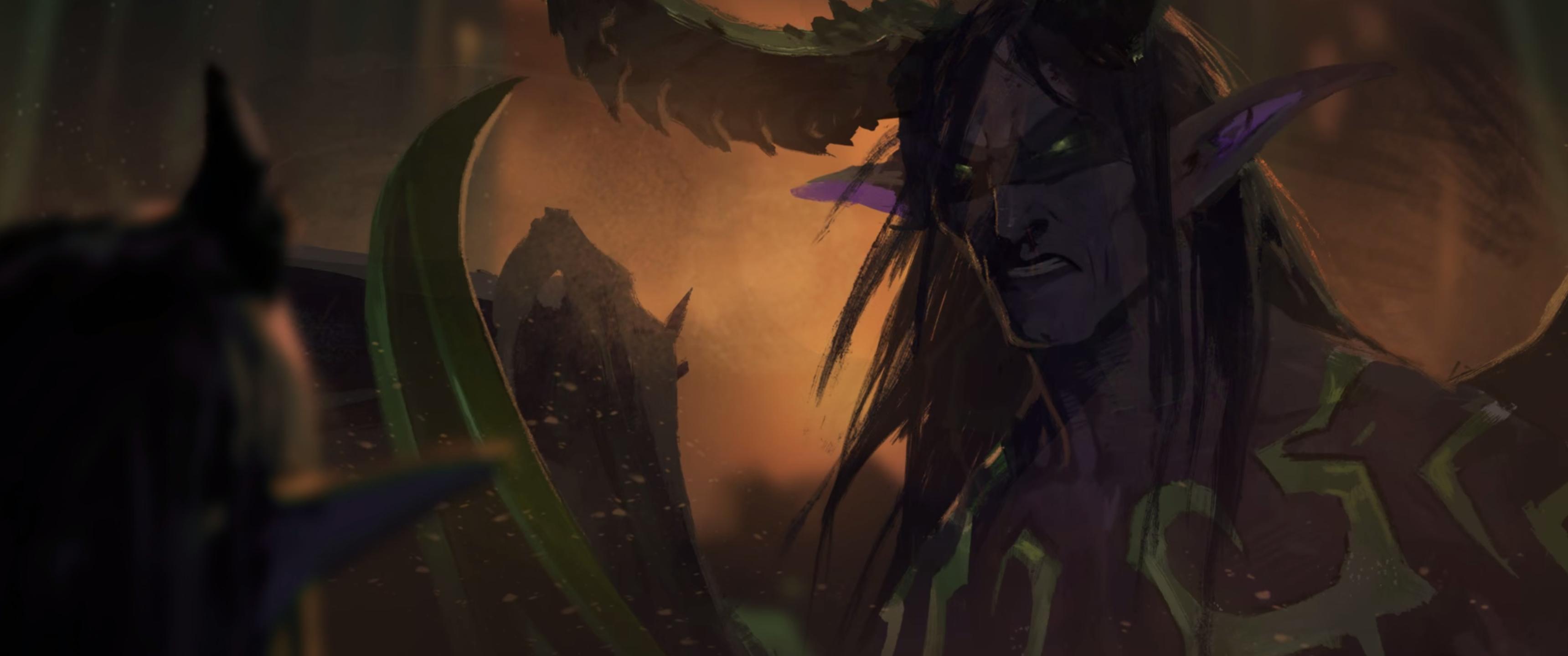 Wallpaper Anime World Of Warcraft Blizzard Entertainment