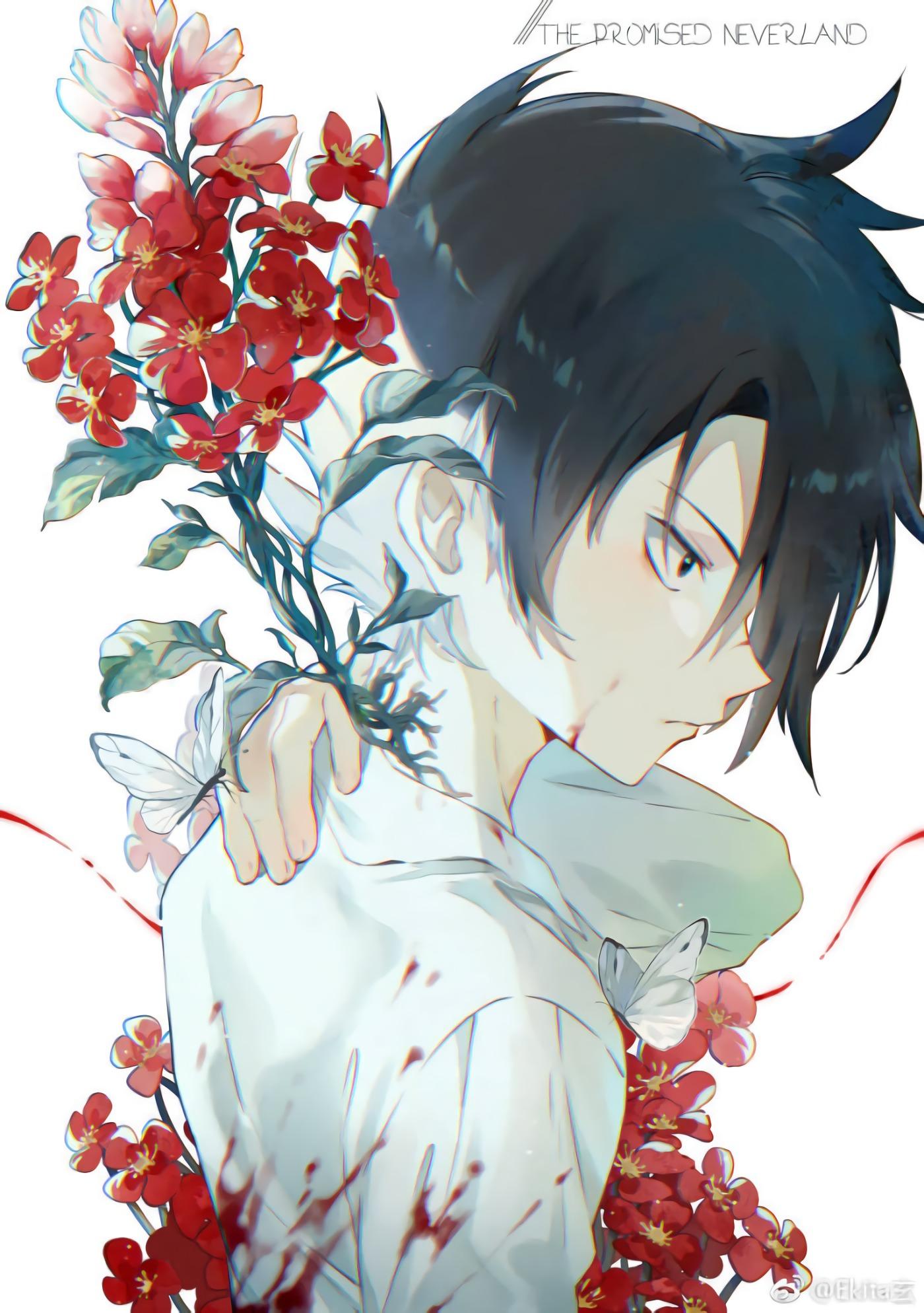 Wallpaper Yakusoku No Neverland Anime Boys The Promised
