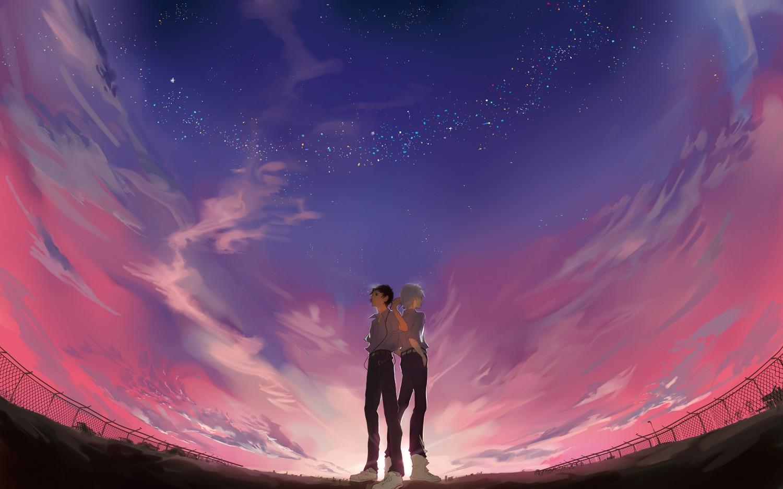 того, картинки двое на фоне неба этот