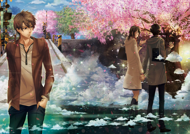 Wallpaper anime boys 5 centimeters per second spring mythology anime anime boys 5 centimeters per second spring mythology cherry trees flower season snapshot screenshot altavistaventures Image collections