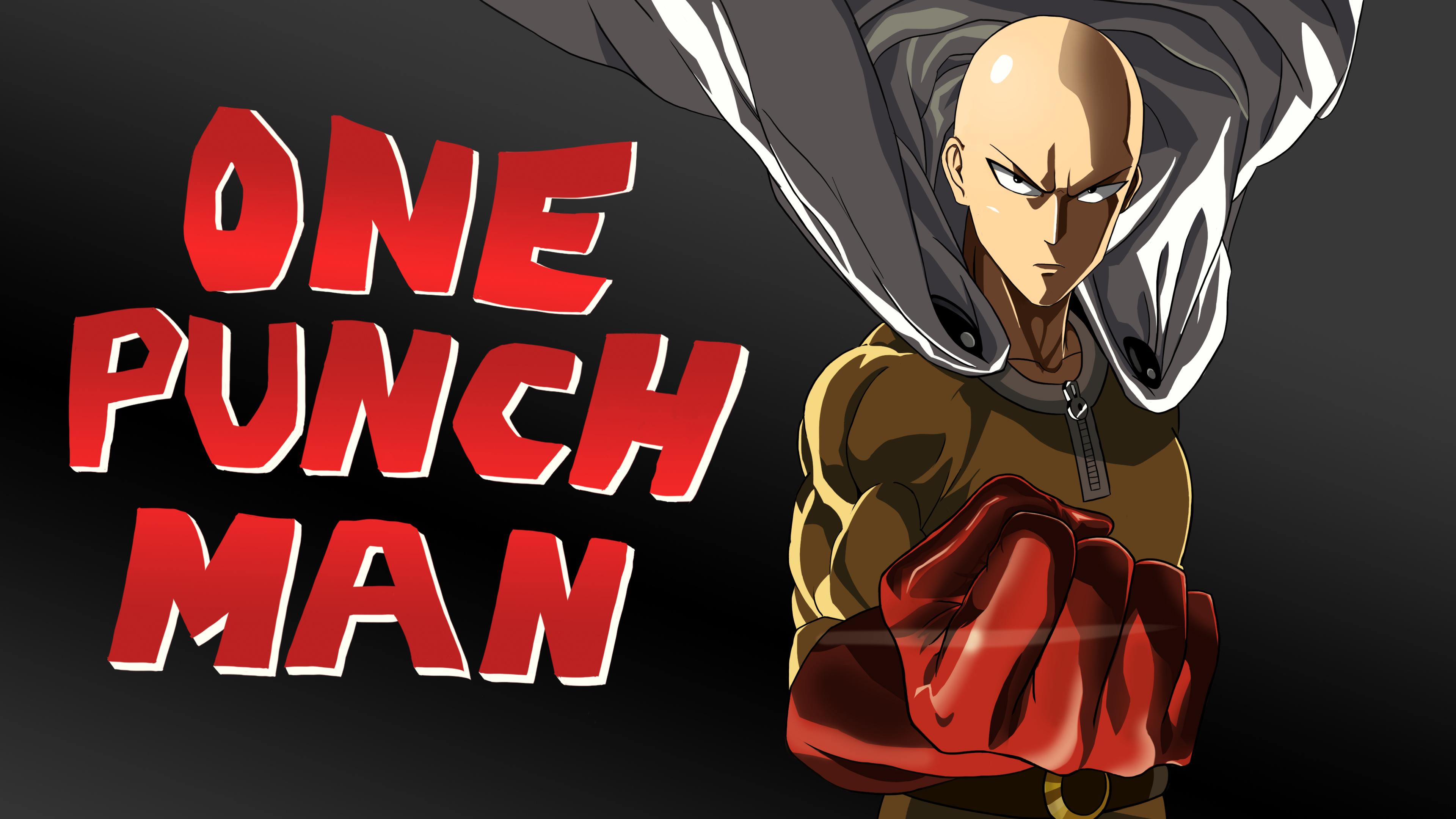 Wallpaper Anime Boys White Skin One Punch Man Artwork Saitama