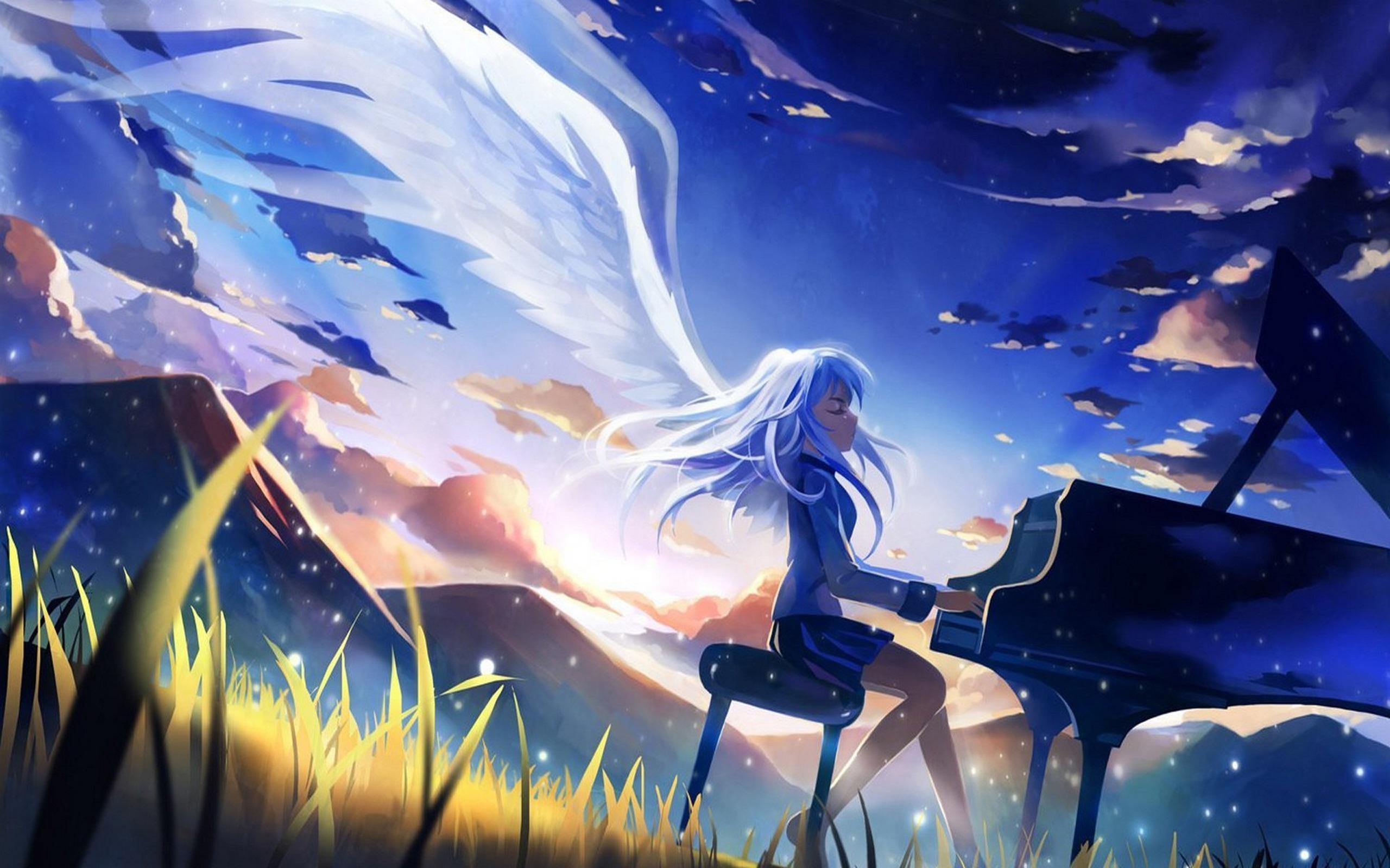 Wallpaper Anime Girls Angel Beats Tachibana Kanade