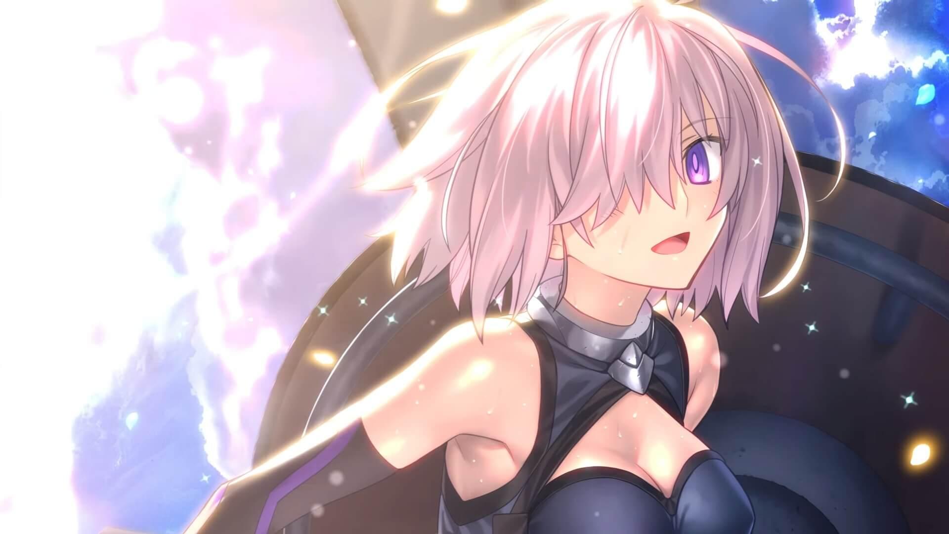 Wallpaper Anime Girls Fate Series Fate Grand Order Shielder