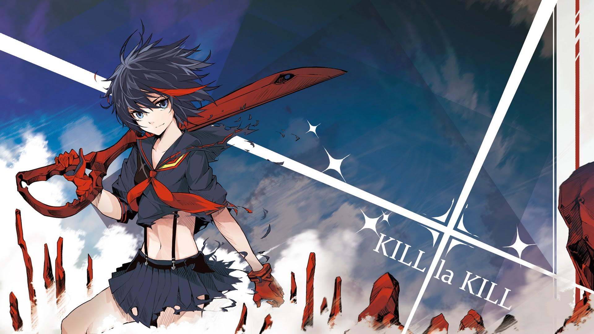 Wallpaper Anime Girls Kill La Kill Screenshot 1920x1080