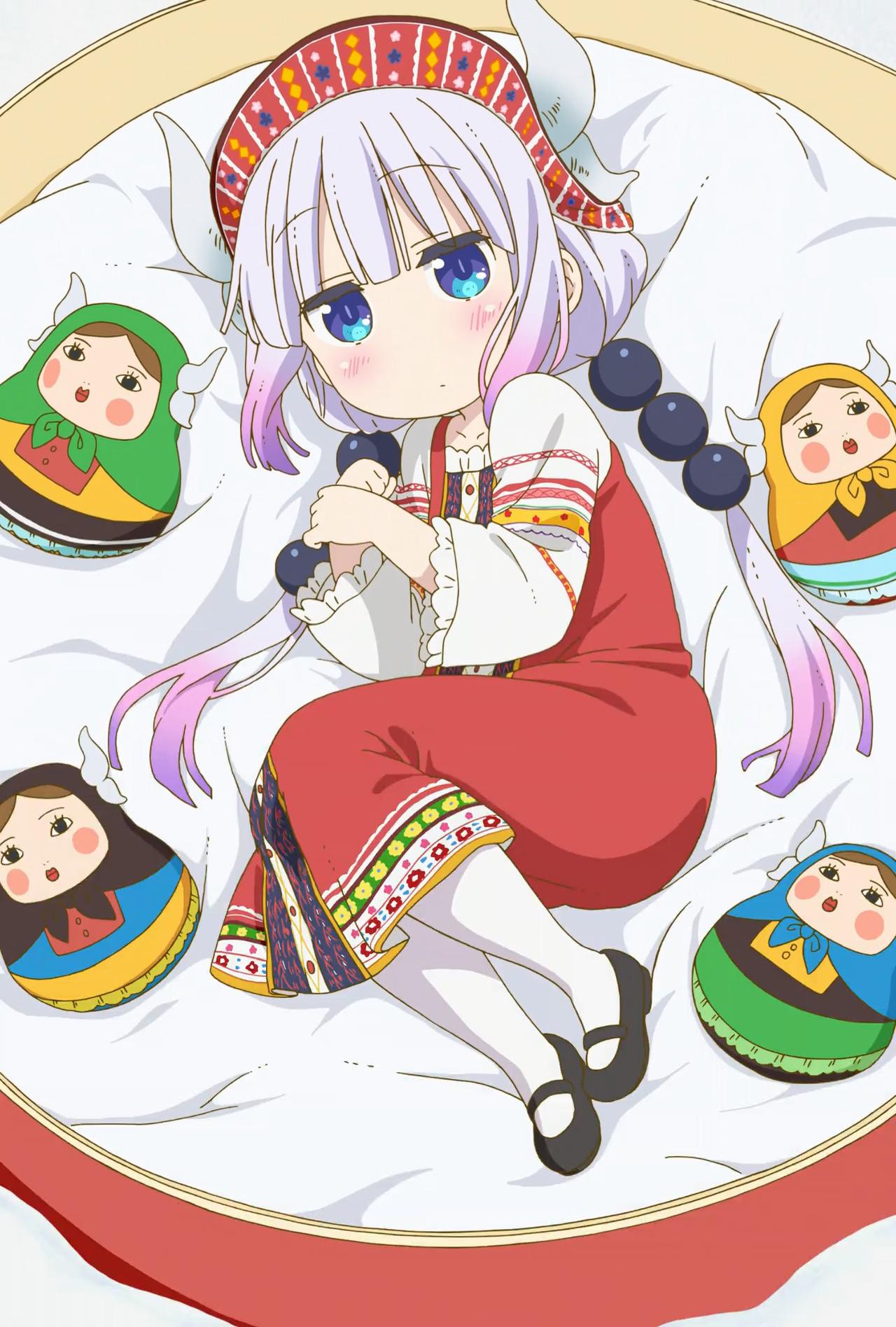 Hình nền : Anime cô gái, Kobayashi san Chi no maid dragon
