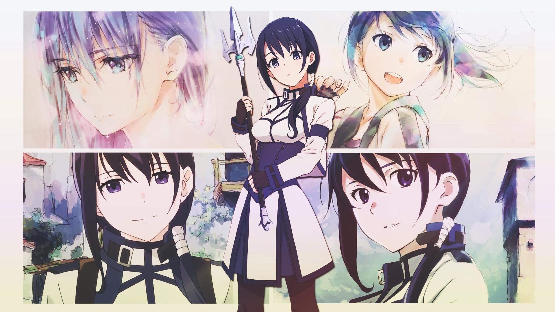 Wallpaper Anime Girls Mary Hai To Gensou No Grimgar Hai To