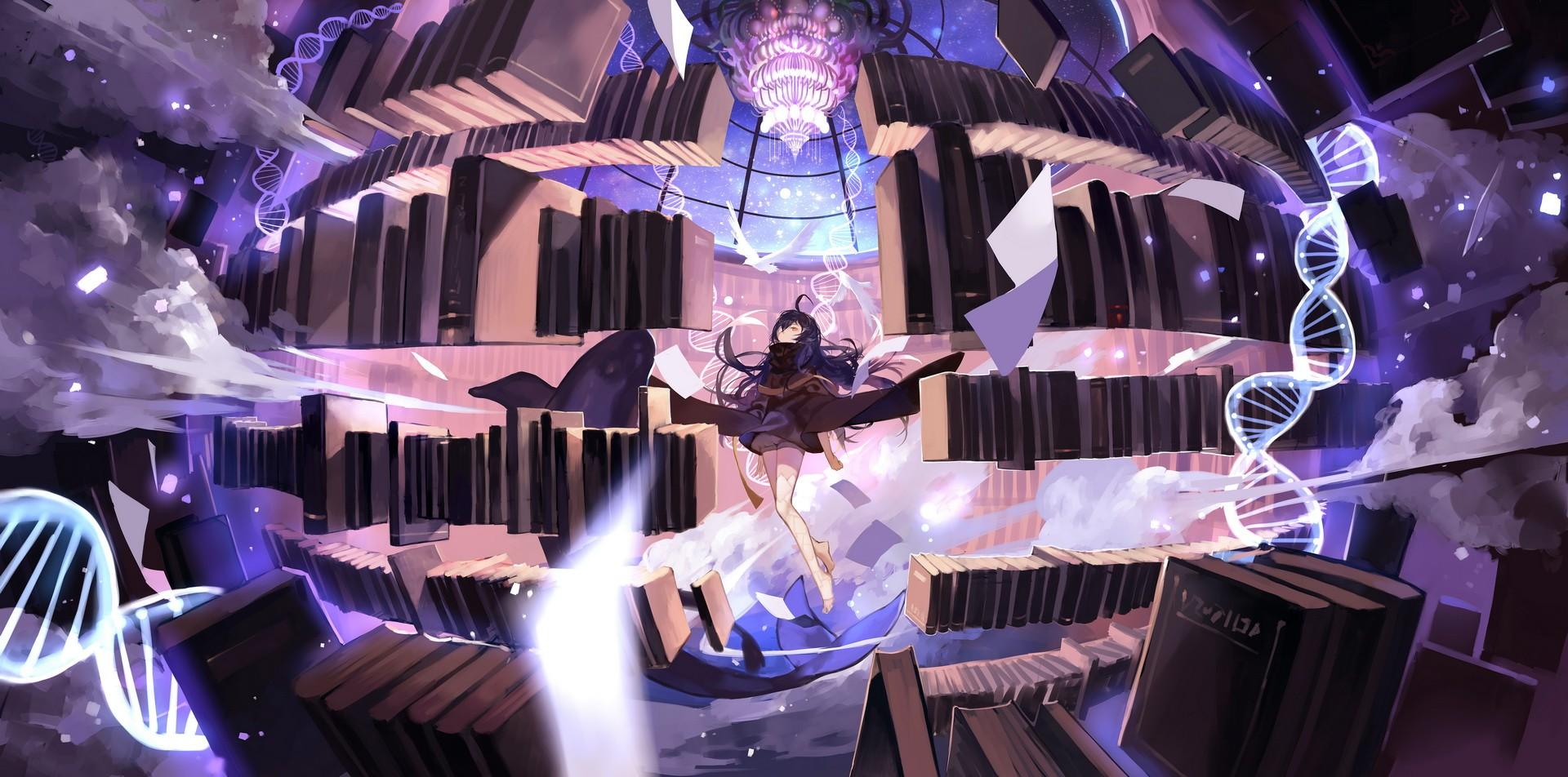 デスクトップ壁紙 アニメの女の子 Pixiv ステージ スクリーンショット ミュージカルシアター ナイトクラブ 19x952 Ludendorf デスクトップ壁紙 Wallhere