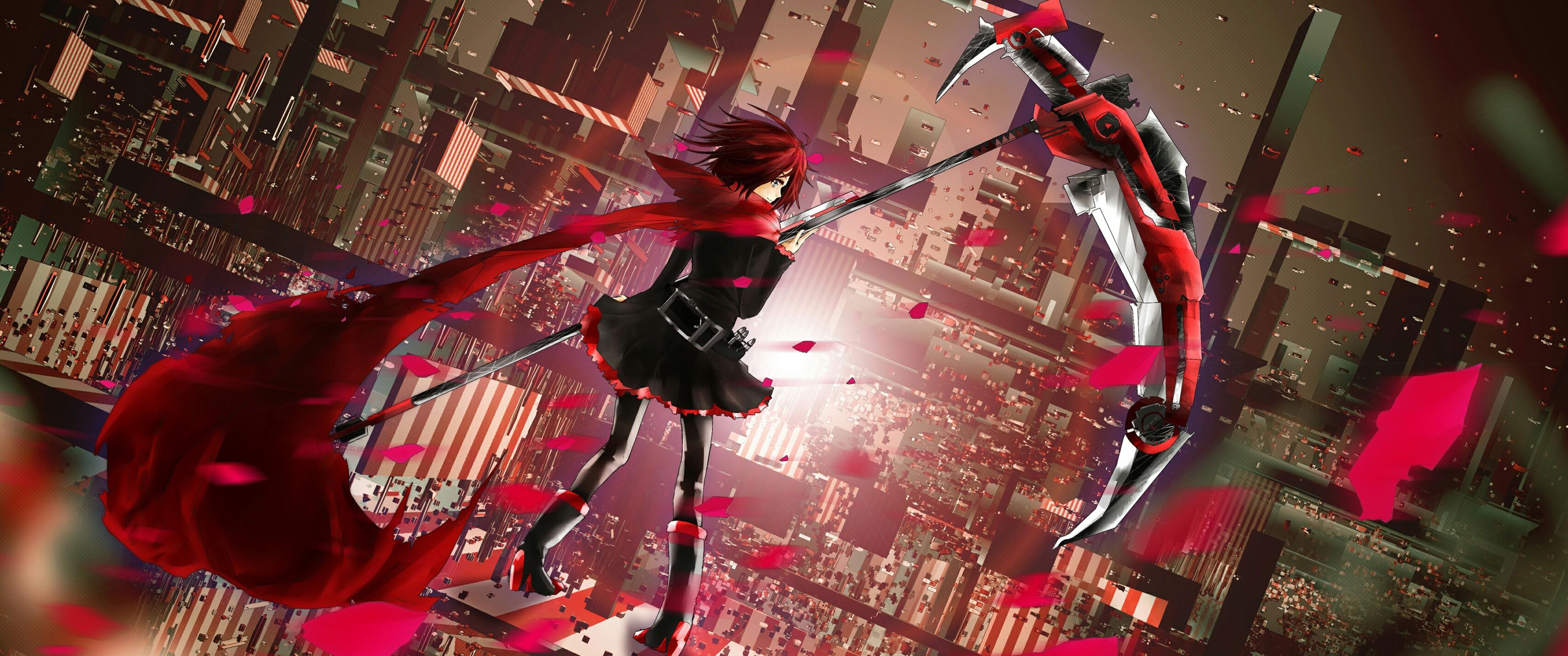 デスクトップ壁紙 アニメの女の子 Rwby ルビーローズキャラクター