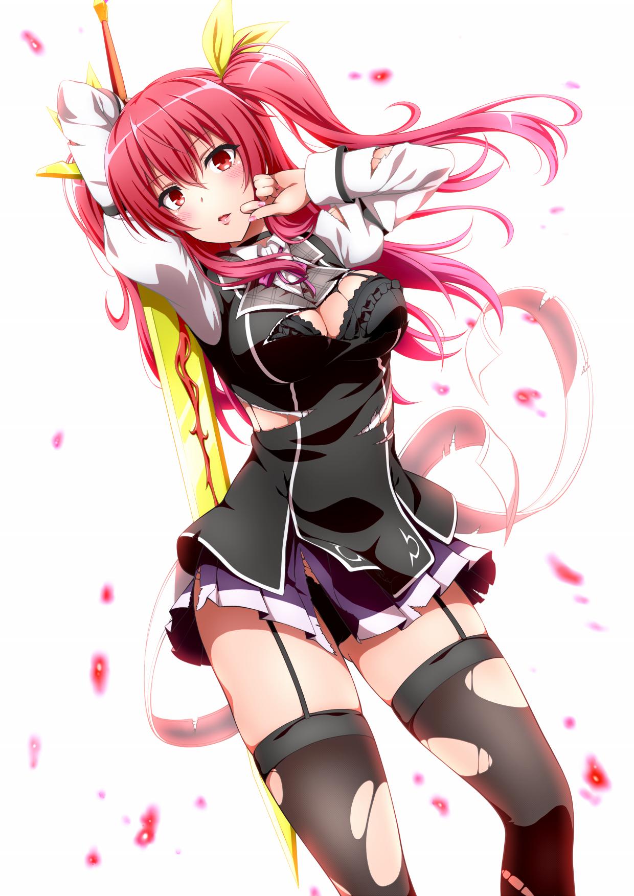 Wallpaper Anime Girls Rakudai Kishi No Cavalry Stella