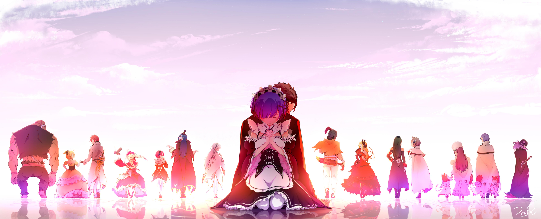 Wallpaper Anime Girls Re Zero Kara Hajimeru Isekai Seikatsu