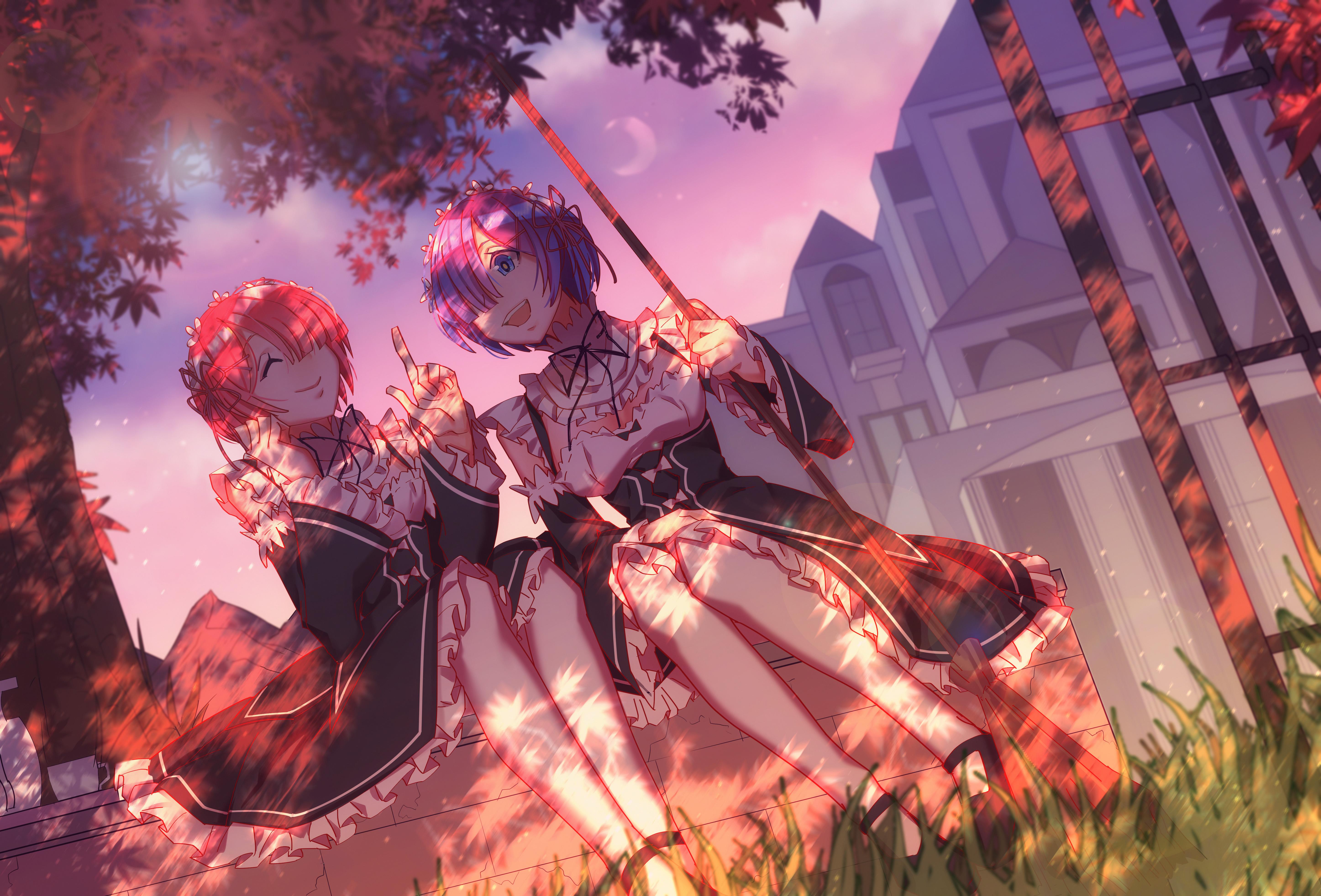 Unduh 90+ Wallpaper Hd Anime Re Zero HD Terbaik