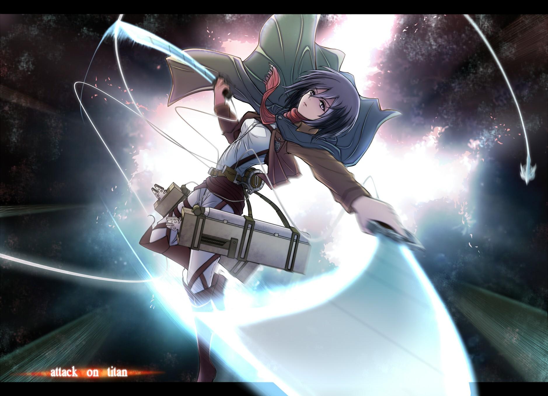 Wallpaper Anime Girls Shingeki No Kyojin Mikasa Ackerman Screenshot Mecha Computer Wallpaper Pc Game 1878x1357 Nosing 174928 Hd Wallpapers Wallhere