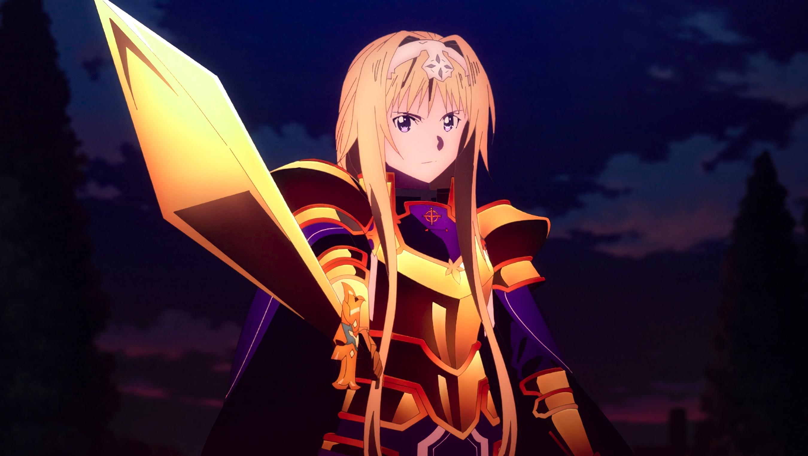 デスクトップ壁紙 アニメの女の子 Sword Art Online Alicization