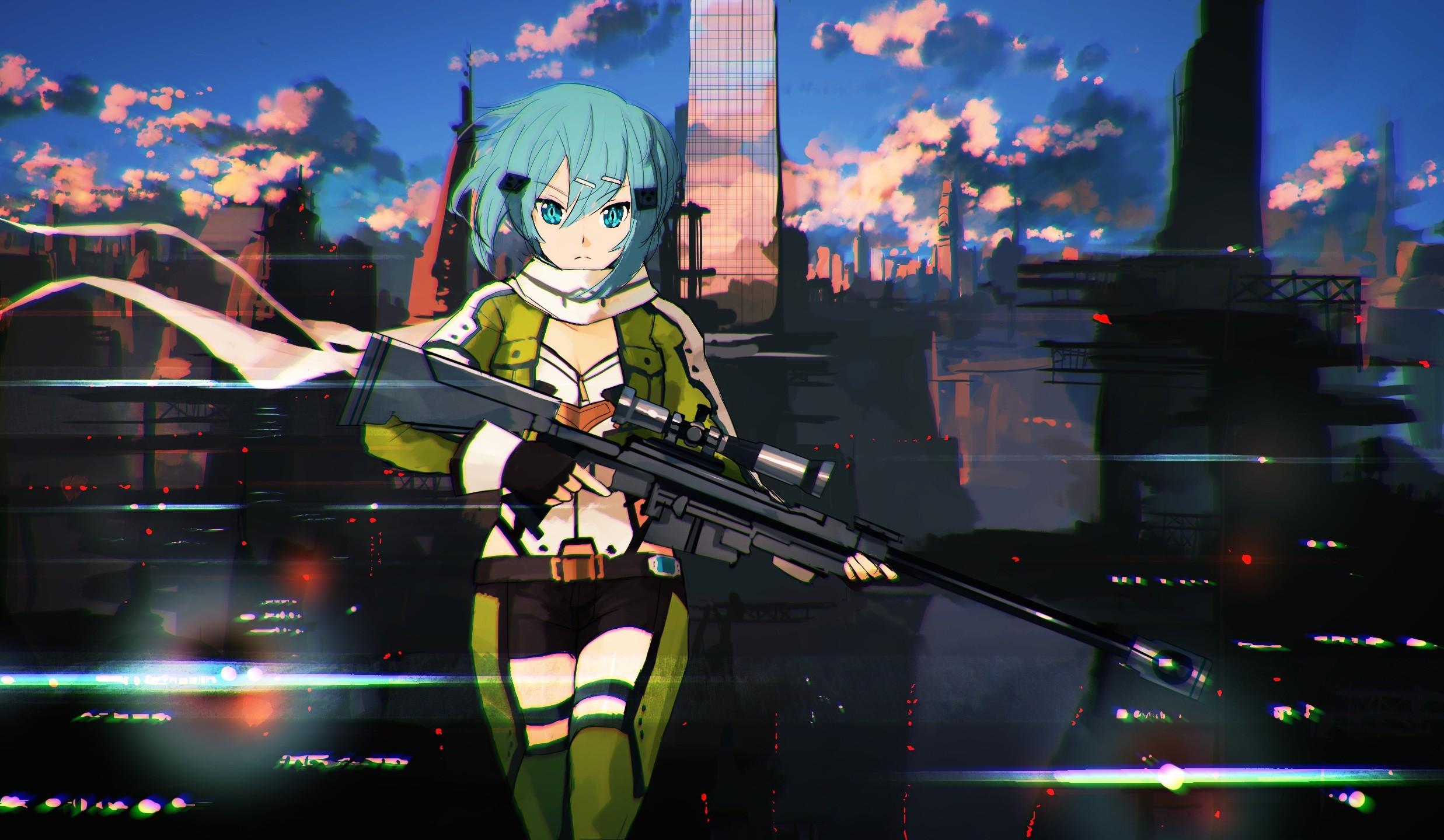 Fondos de pantalla anime chicas anime arte de espada - Fondos de pantalla para pc 4k anime ...