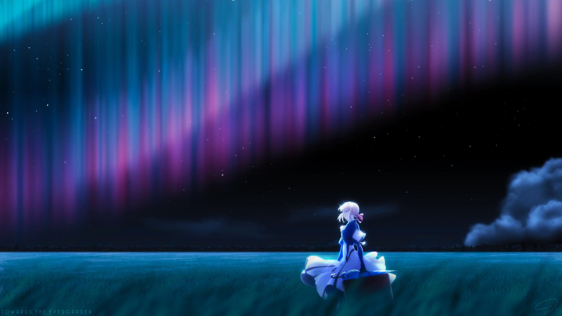 Wallpaper : Anime Girls, Violet Evergarden, Short Hair