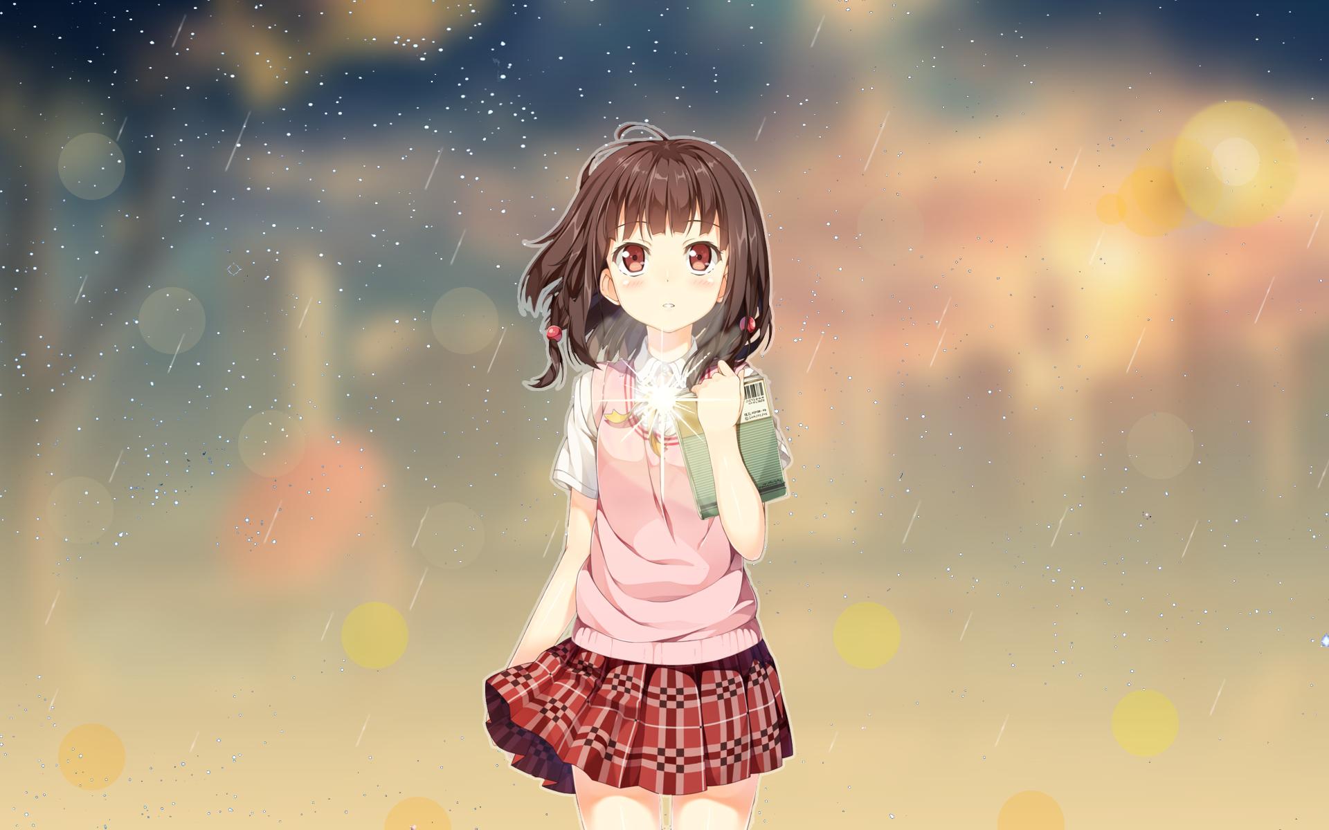 Wallpaper Anime Girls Anime Sky Anime Vectors Anime