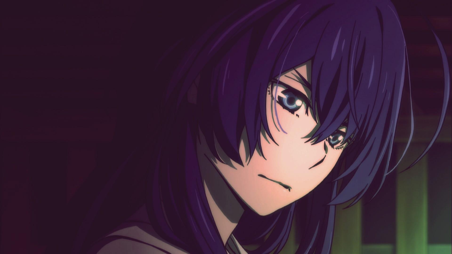 Wallpaper : anime girls, artwork, black hair, Bungou Stray