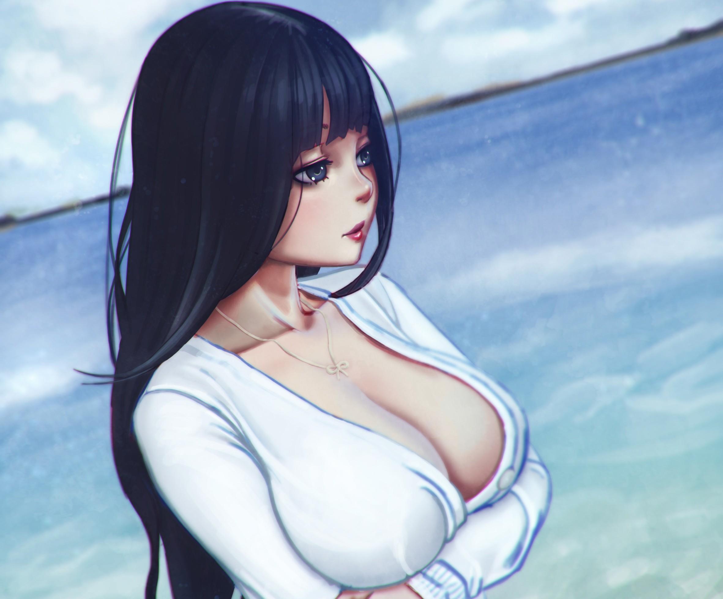 картинки девочки аниме с грудью обнажонные15 лет