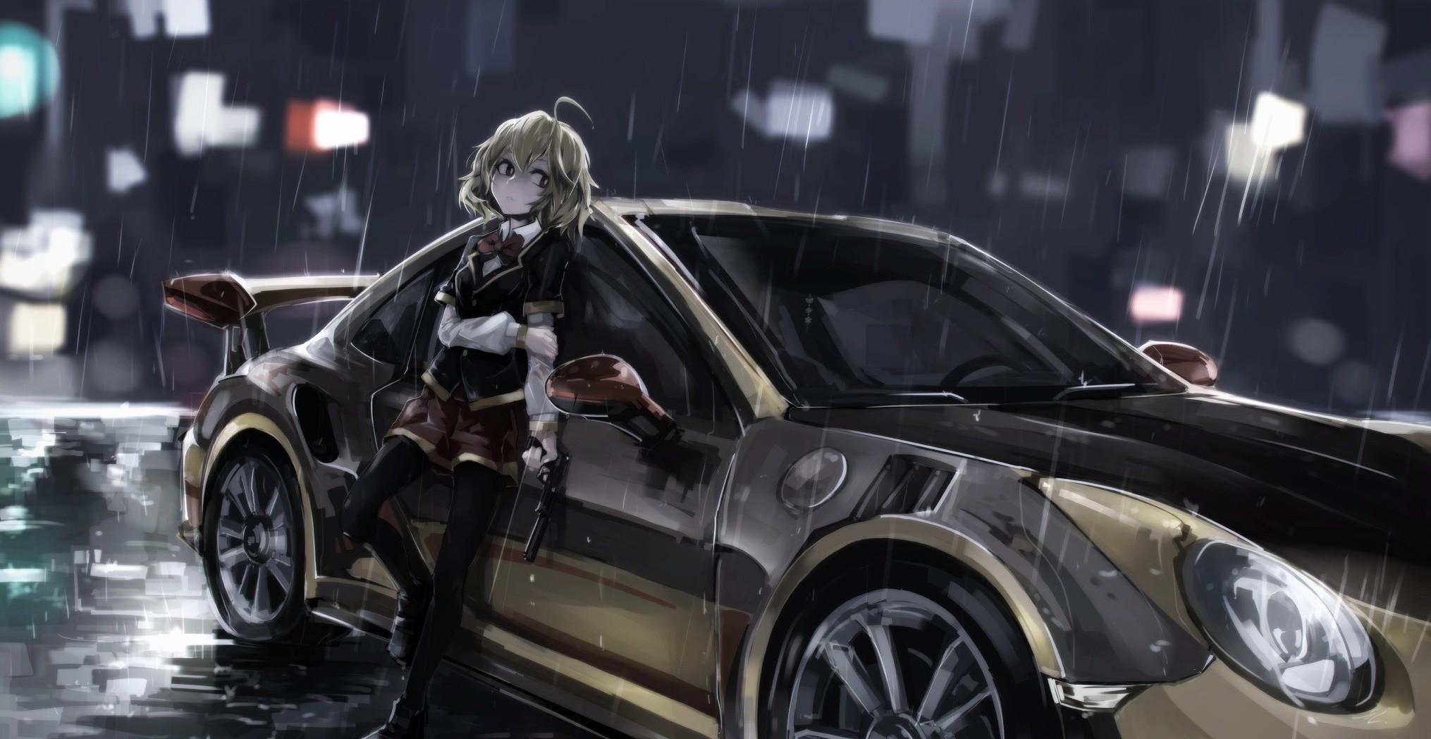 Cool Wallpaper Anime Car - anime-anime-girls-car-vehicle-Porsche-sports-car-Hashiri-Nio-Akuma-no-Riddle-wheel-supercar-land-vehicle-automotive-design-race-car-automobile-make-luxury-vehicle-auto-show-2030x1048-px-608174  Gallery_739616      .jpg