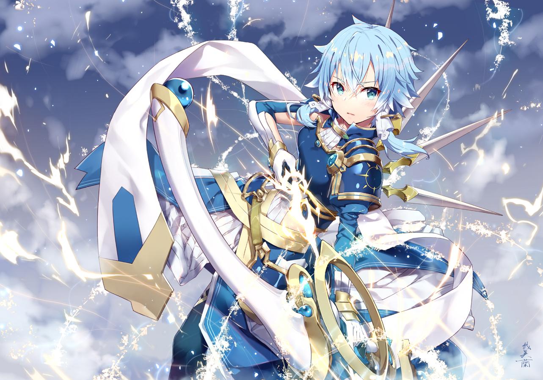 Wallpaper Anime Girls Digital Art Artwork 2d Portrait Sword