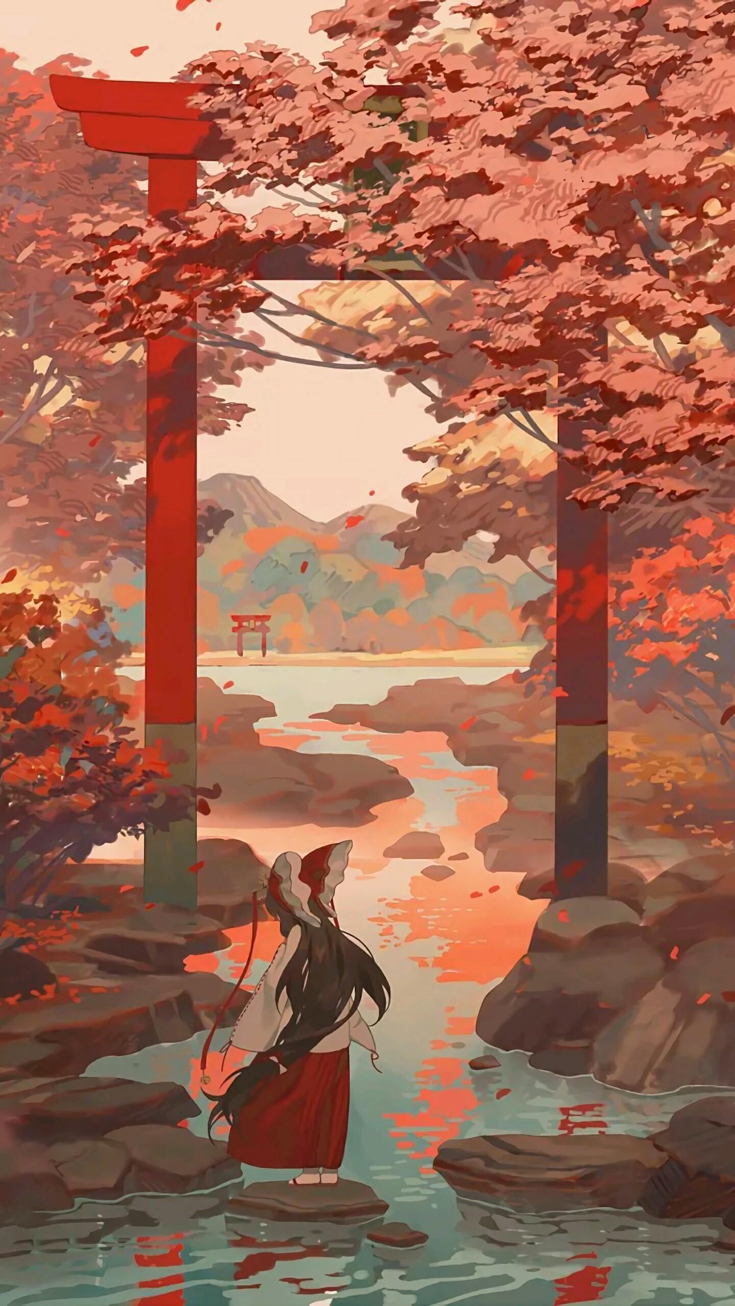 デスクトップ壁紙 アニメの女の子 秋 水 1440x2560 Jondoe297 デスクトップ壁紙 Wallhere