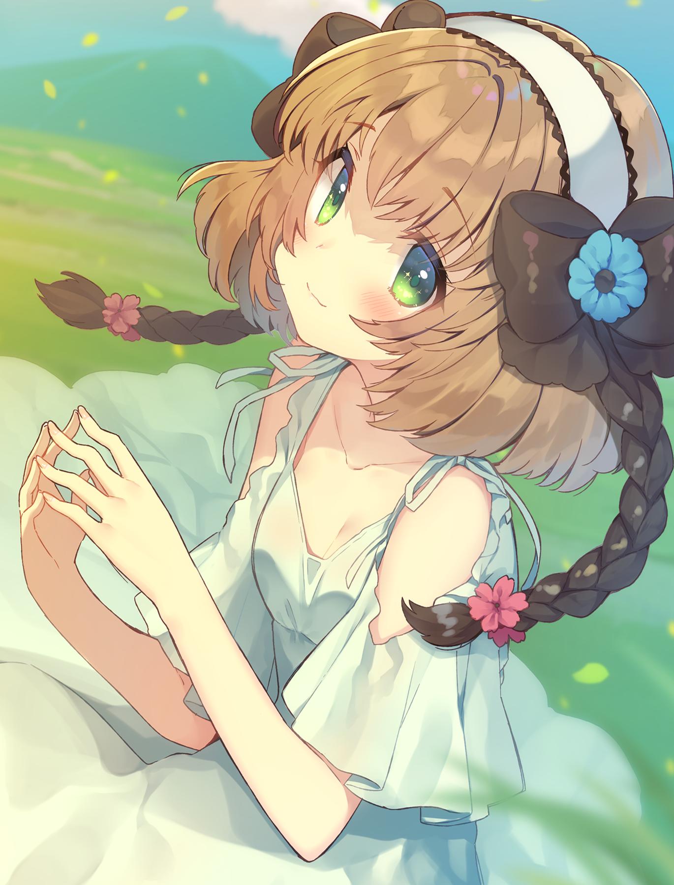 Wallpaper Anime Girls Green Eyes Tales Of Xillia 1370x1800