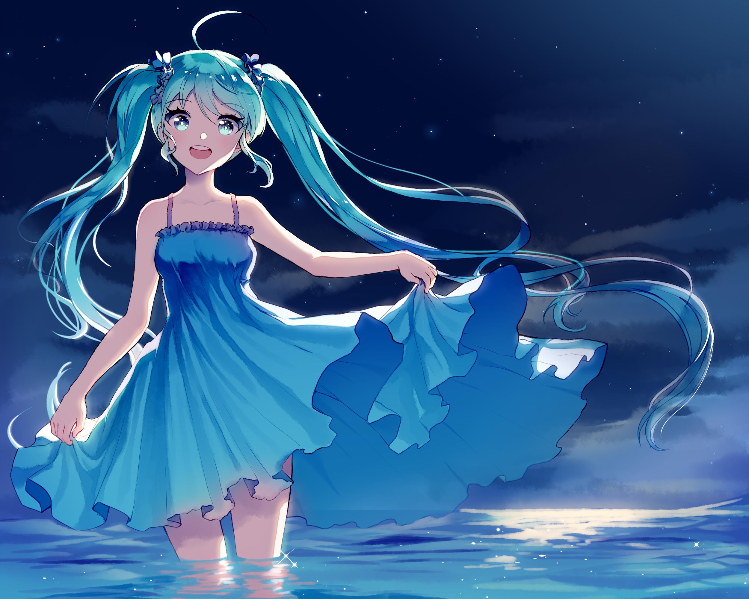 Wasser im anime nackt girl Girls Nackt