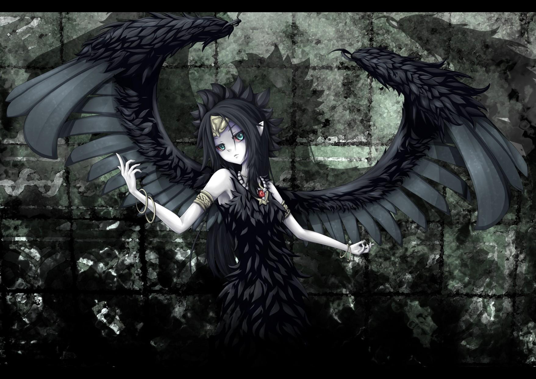 Wallpaper Anime Girls Wings Angel Death Mythology Yu Gi Oh