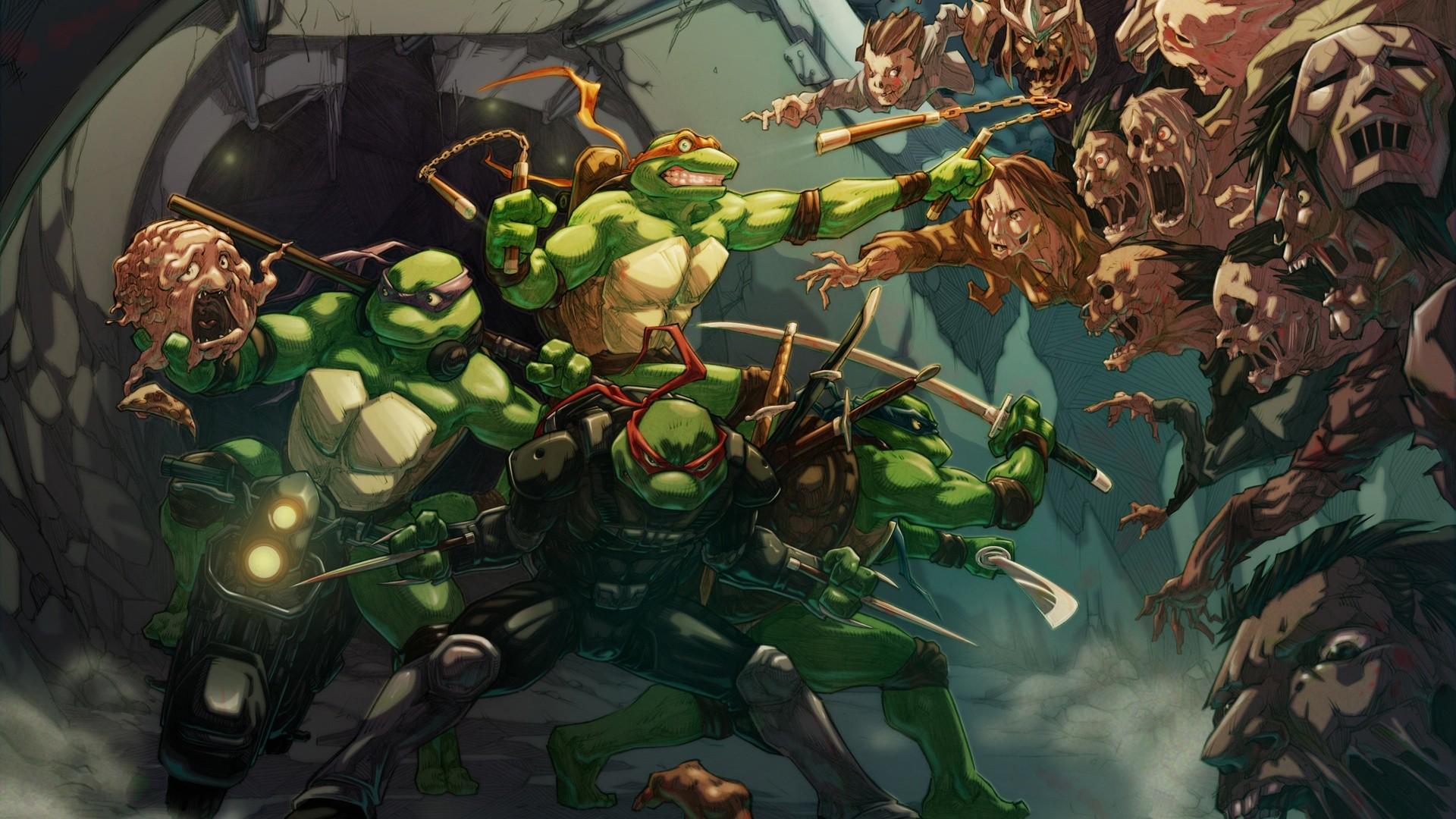 имеется картинки черепашки ниндзя монстры против мутантов территория