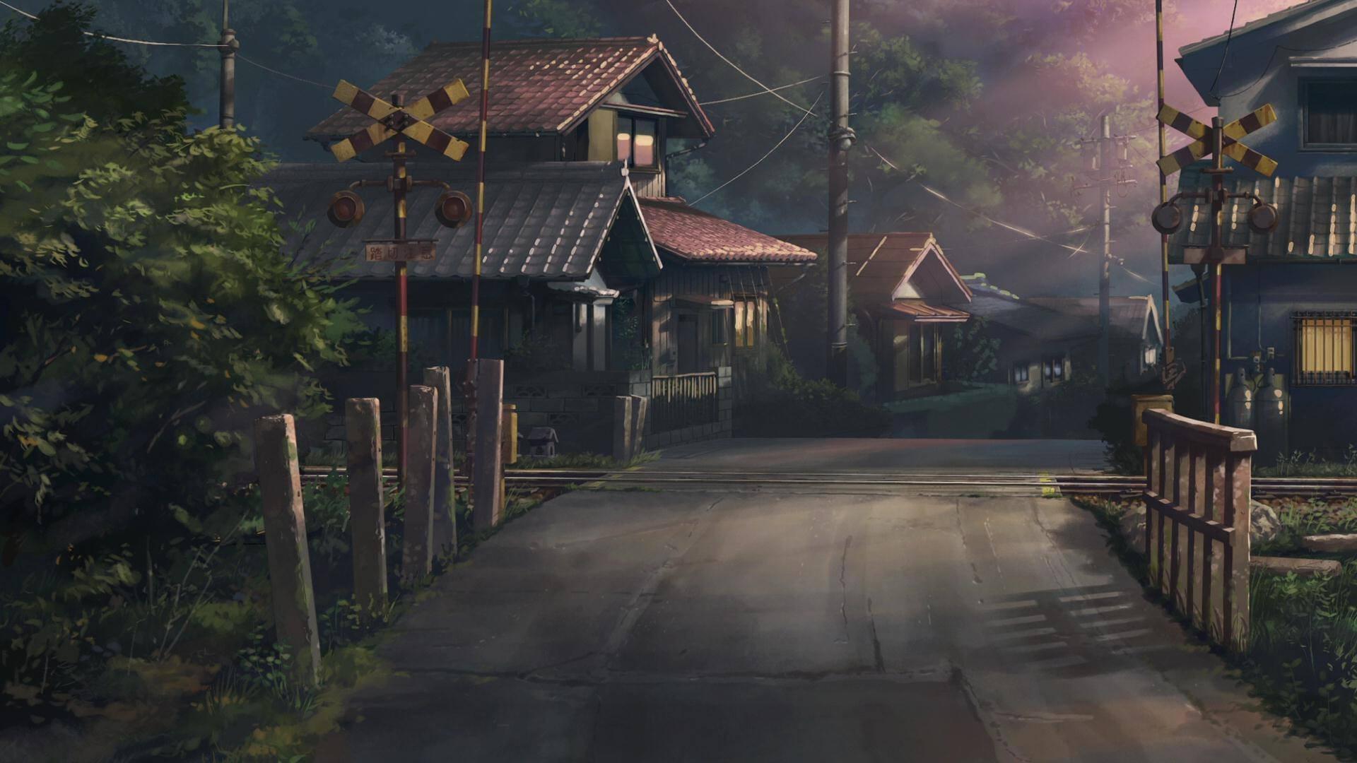 Anime Artwork House Village Children Who Chase Lost Voices Estate Mansion Screenshot