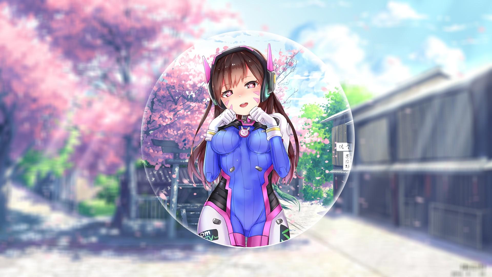 Fondos De Pantalla Anime Azul Supervisión D Va
