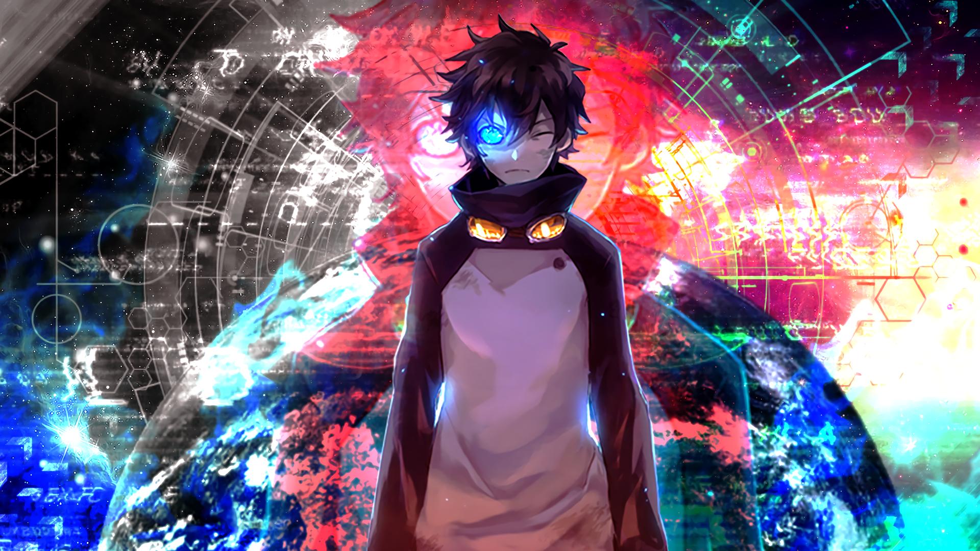 Fondos De Pantalla : Anime, Ojos Azules, Chicos Anime