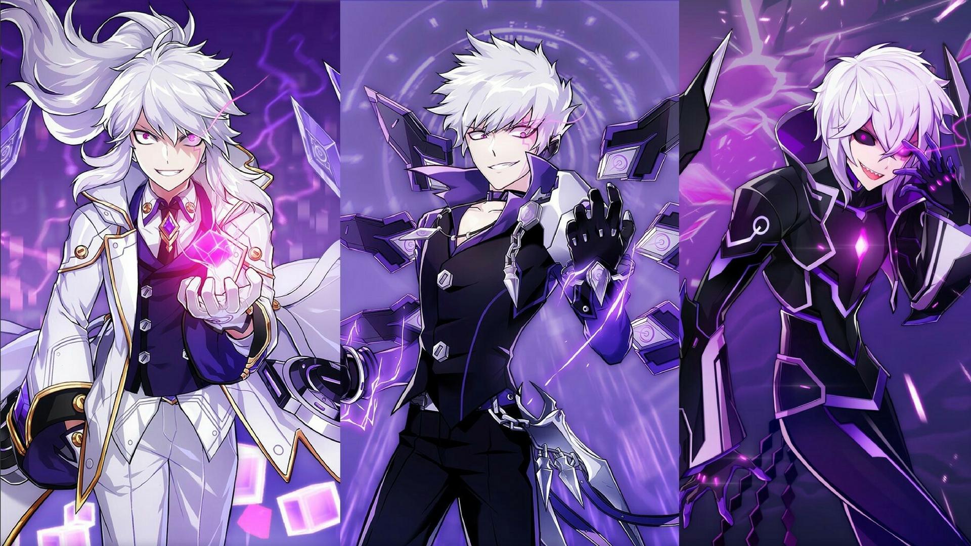 Papel de parede : Meninos anime, Anime Game, Elsword ...