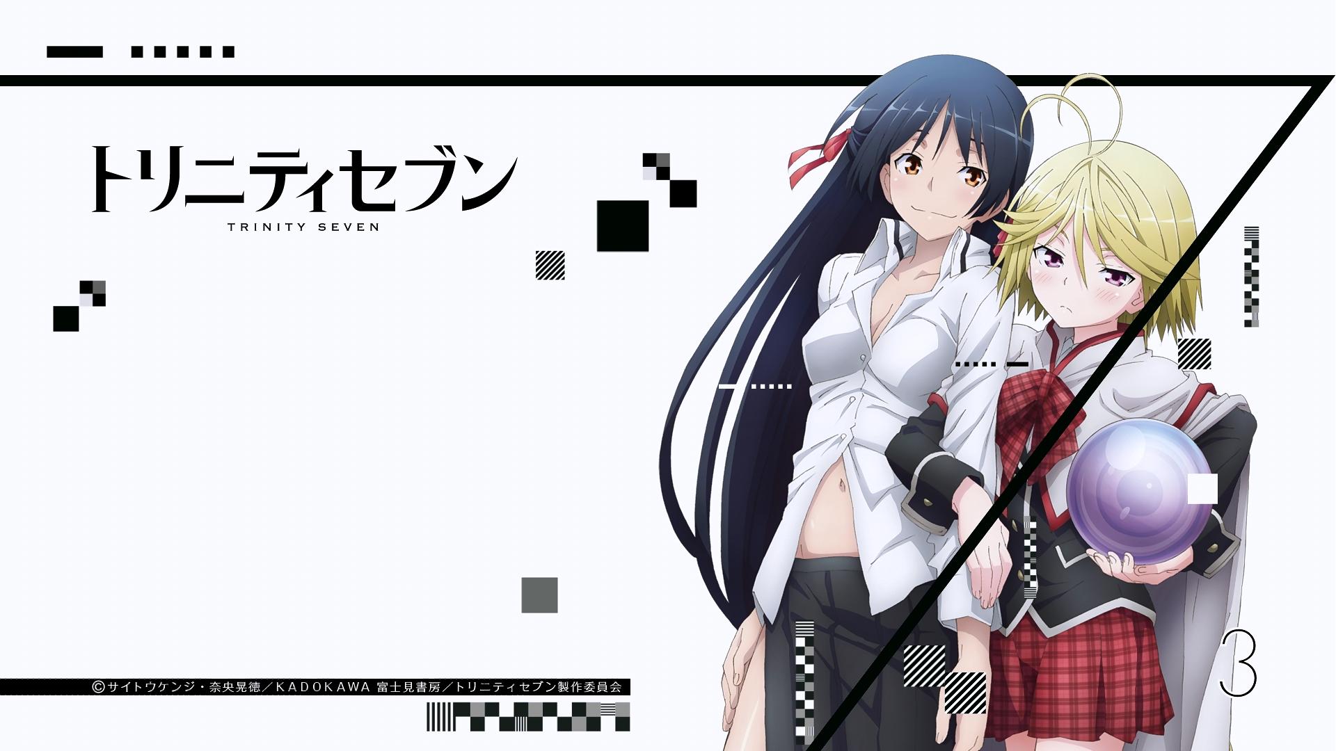 Fondos De Pantalla Anime Dibujos Animados Trinity Seven