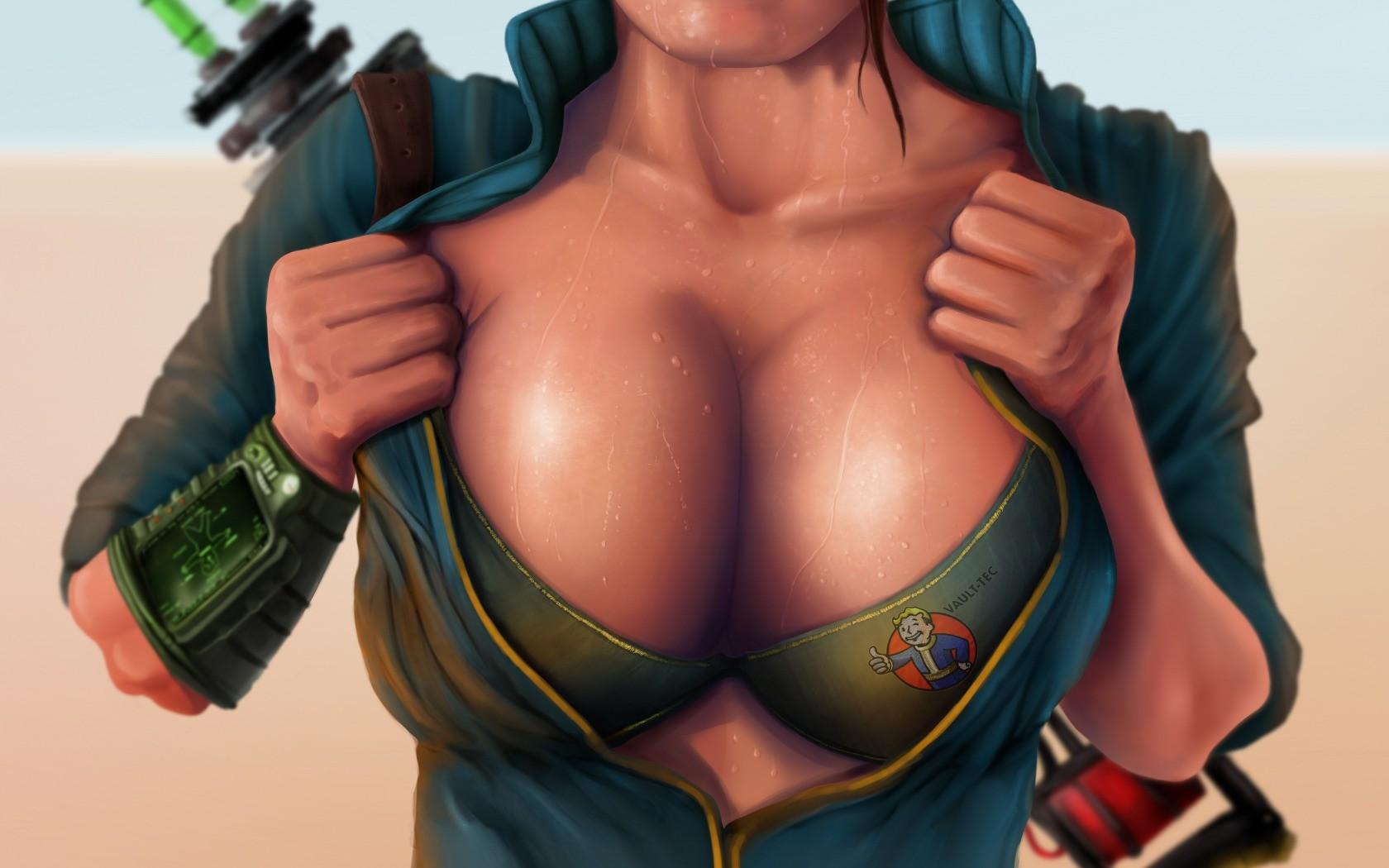 Fallout big tits really. happens