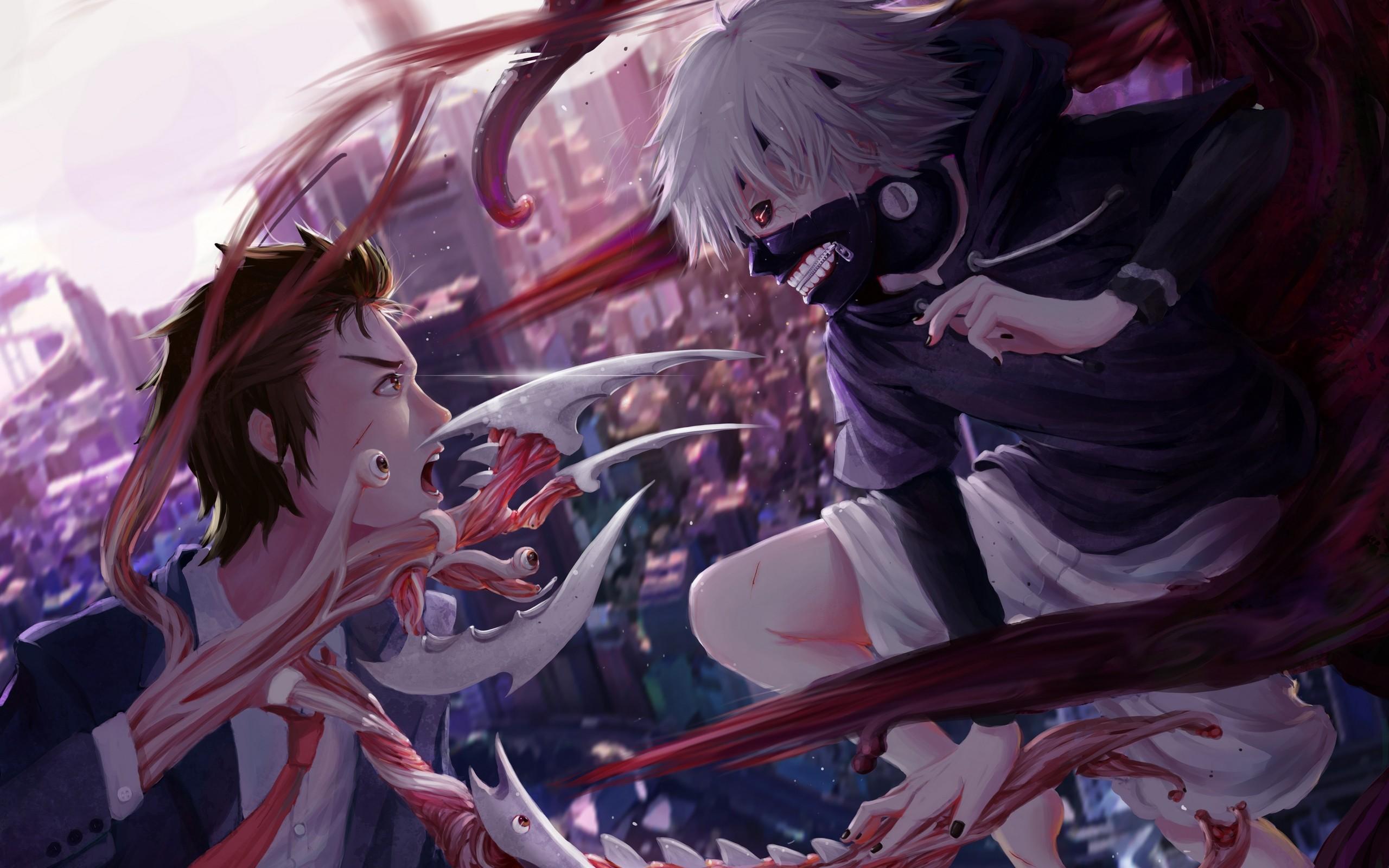 fond d'ecran anime tokyo ghoul